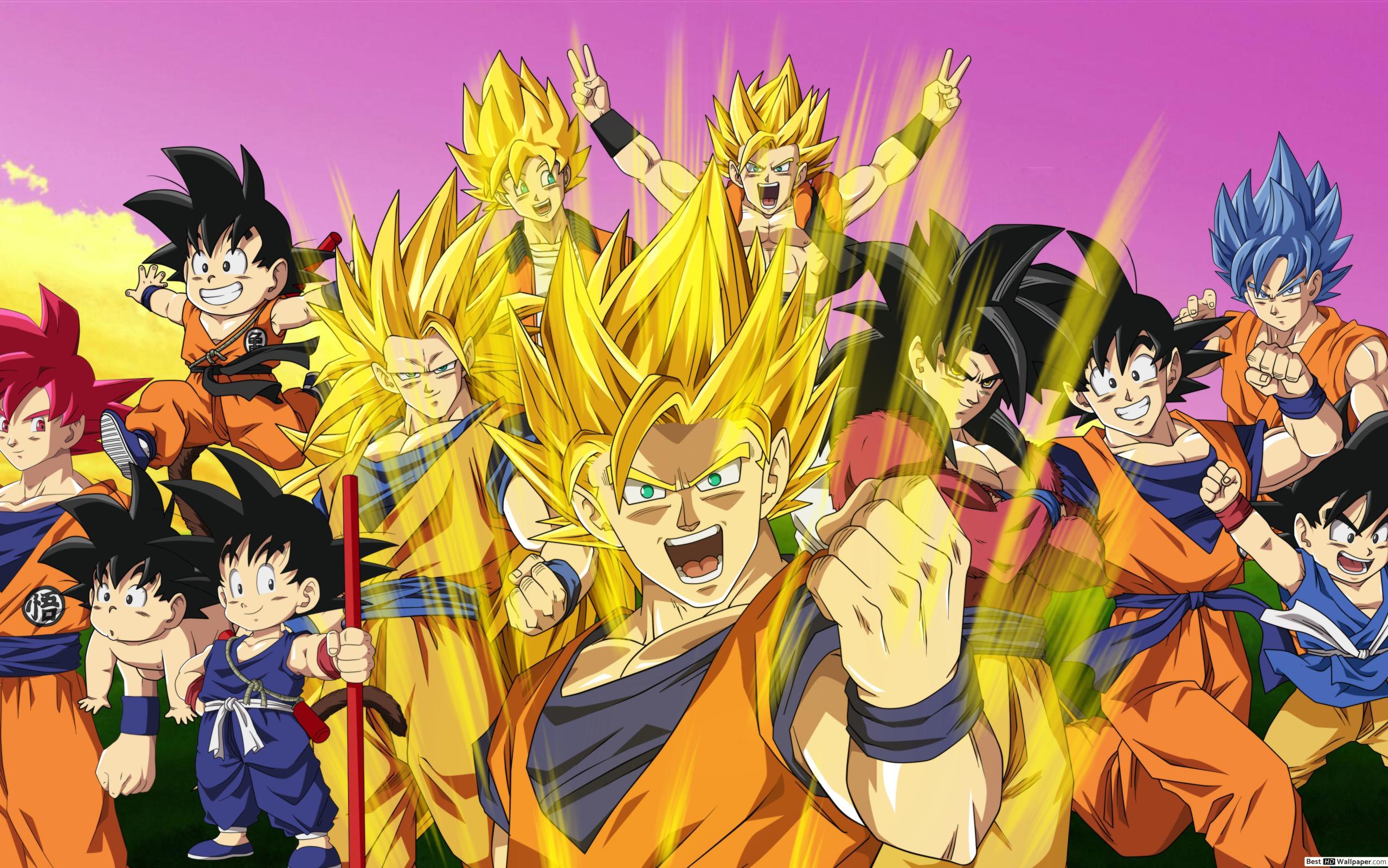 Anime / Dragon Ball Z Hd Fond D'écran Télécharger tout Dessin Animé De Dragon Ball Z
