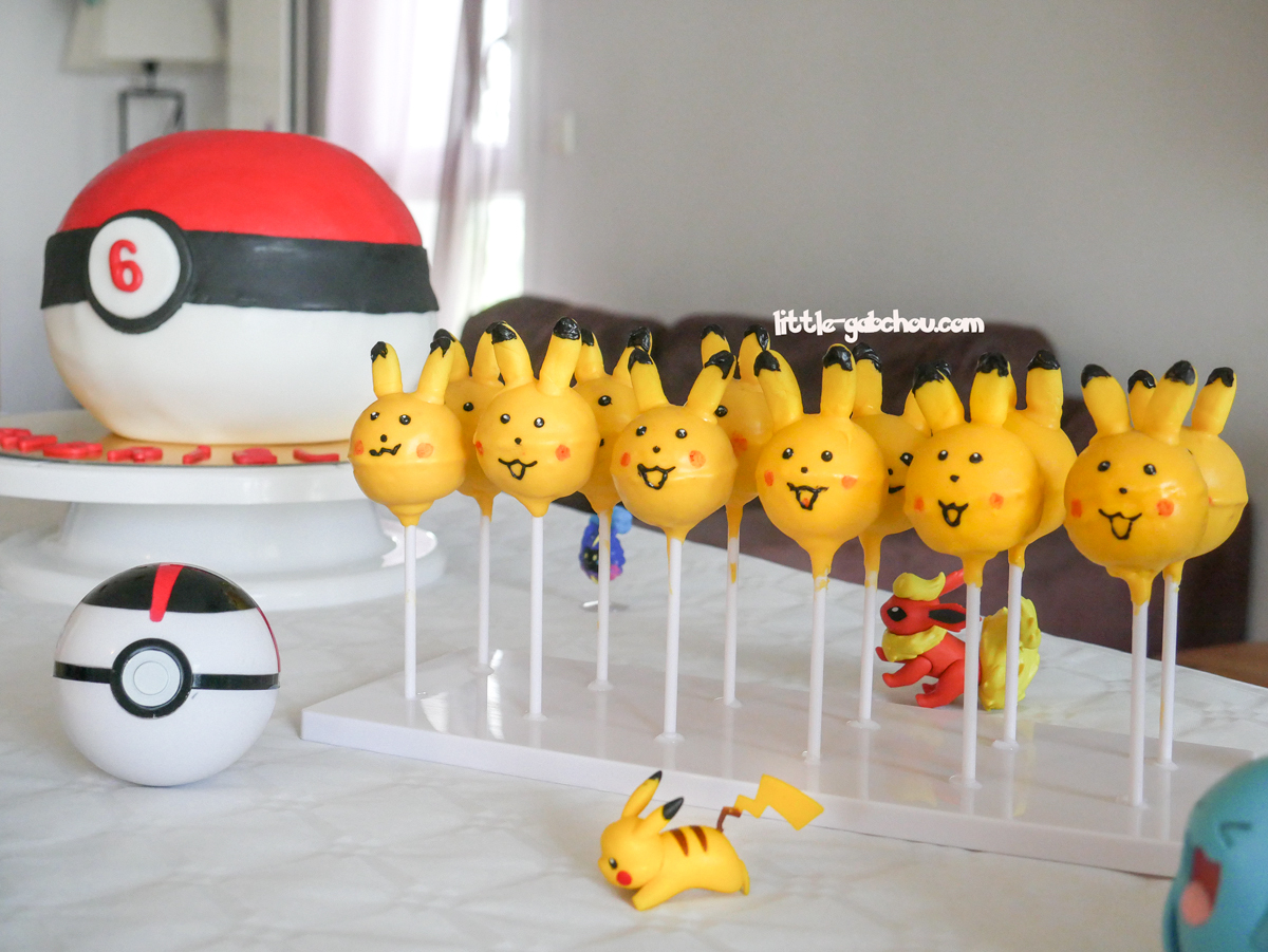 Anniversaire Sur Le Thème De Pokemon Pour Les 6 Ans De Gab destiné Jeu Pour Garcon De 6 Ans Gratuit