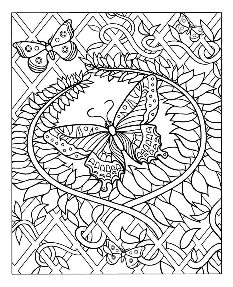 Anti-Stress #33 (Relaxation) – Coloriages À Imprimer destiné Rosace A Imprimer