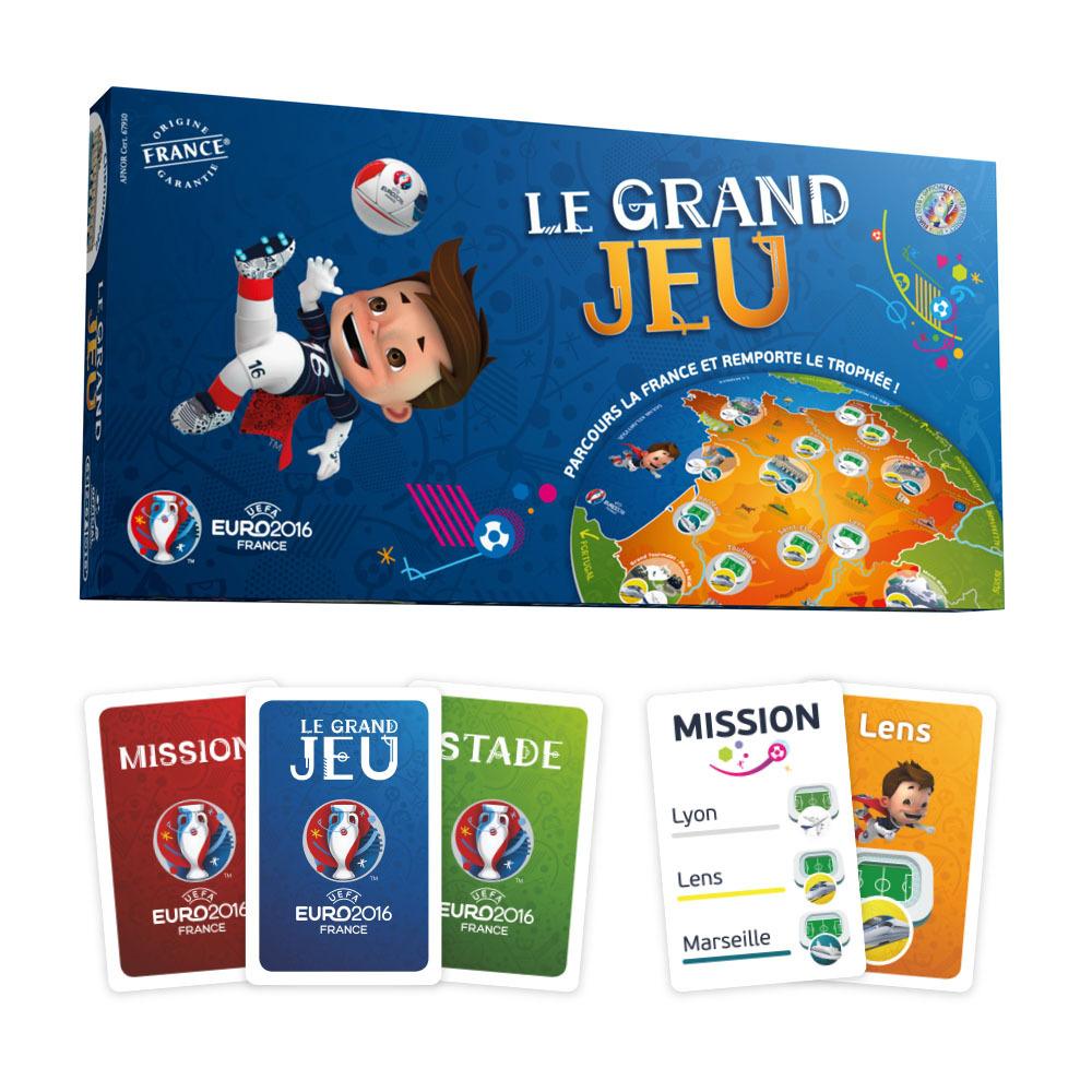 Apicoove - Les Licenses Officielles Uefa Euro 2016™: Le intérieur Carte De France Ludique