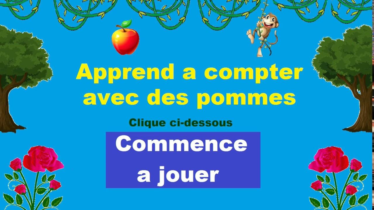 Apprendre A Compter Maternelle - Jeux Intéractif tout Jeu Educatif 4 Ans Gratuit En Ligne