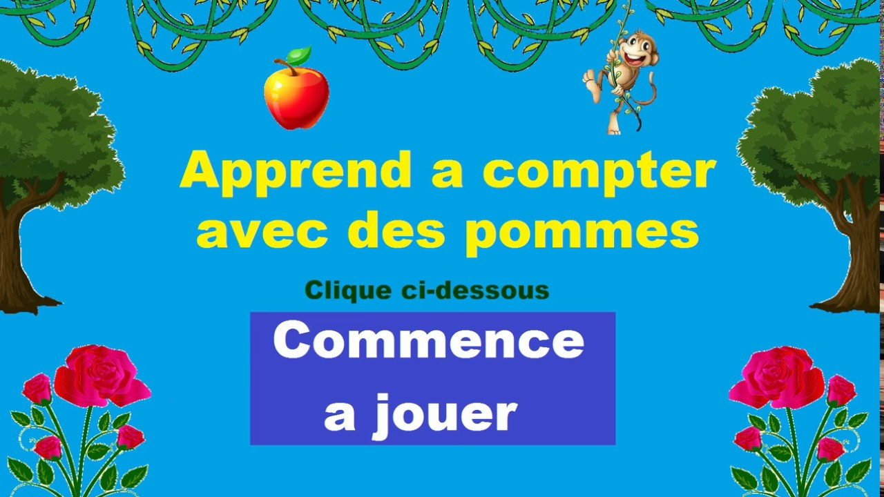 Apprendre A Compter Maternelle - Jeux Intéractif tout Jeux Maternelle Petite Section Gratuit