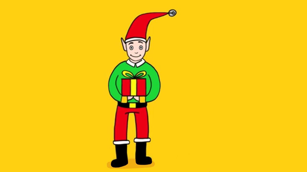 Apprendre À Dessiner Un Lutin De Noël à Dessiner Un Lutin