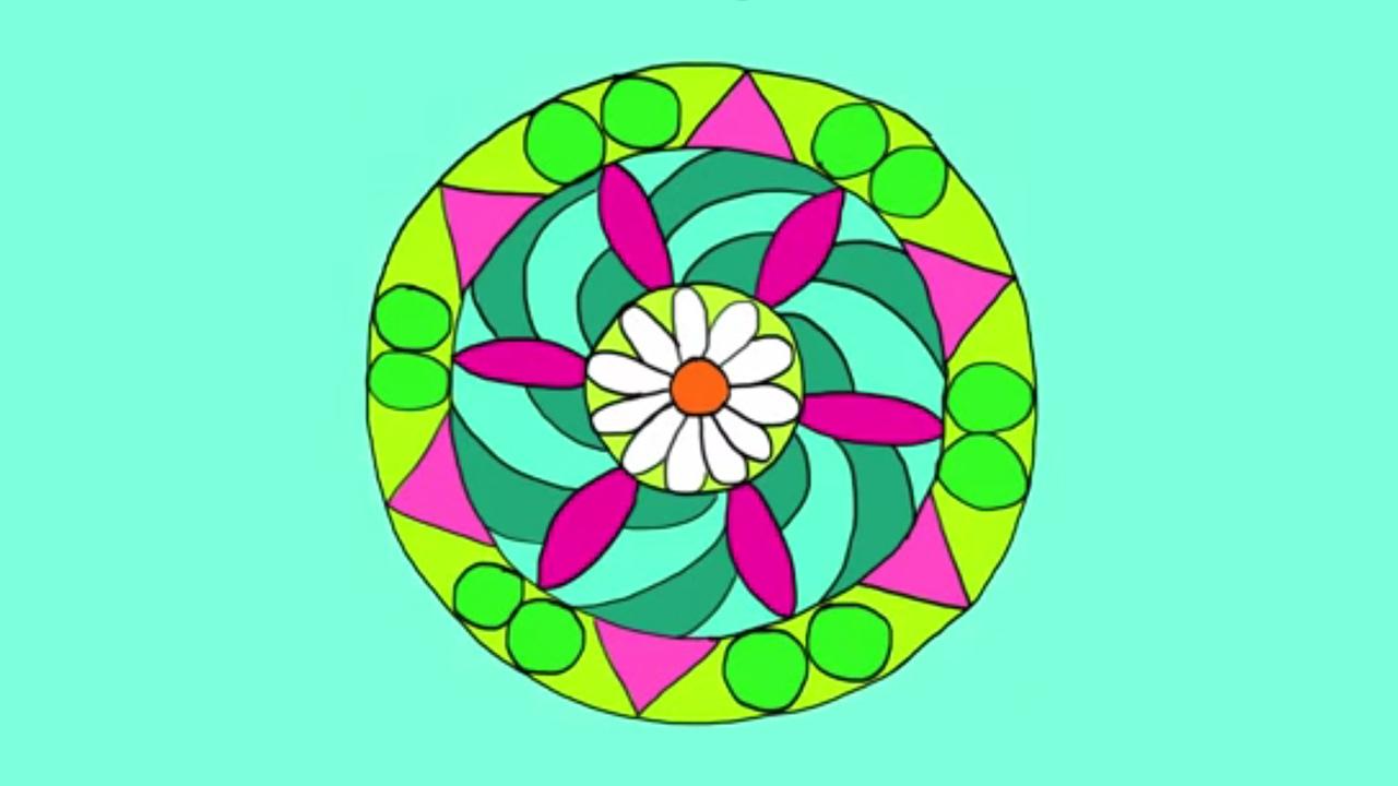 Apprendre À Dessiner Un Mandala tout Dessiner Un Mandala