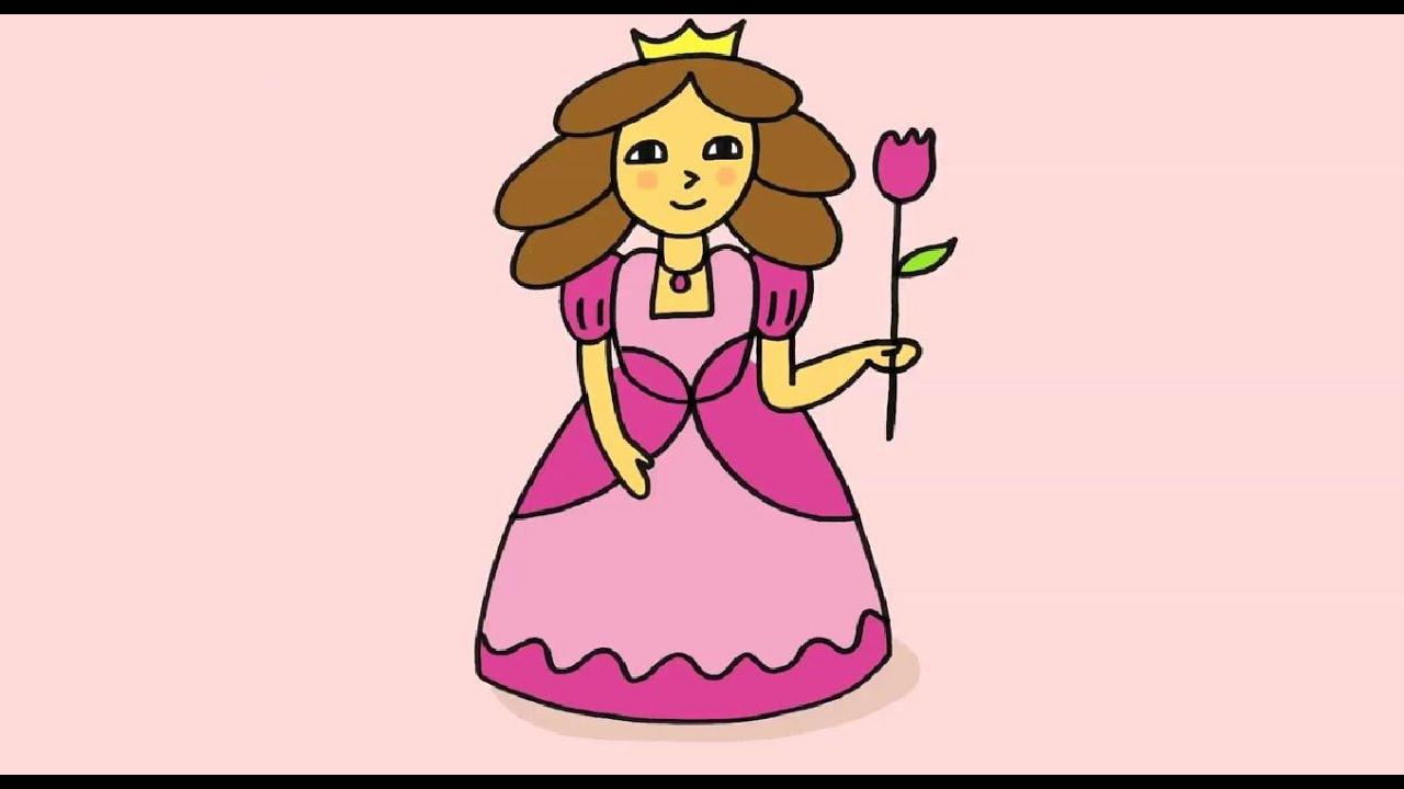 Apprendre À Dessiner Une Princesse Disney pour Chateau Princesse Dessin