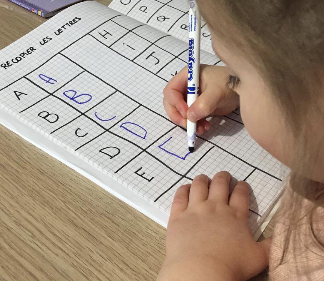 Apprendre À Écrire - Les Activités De Maman à Apprendre À Écrire L Alphabet En Maternelle