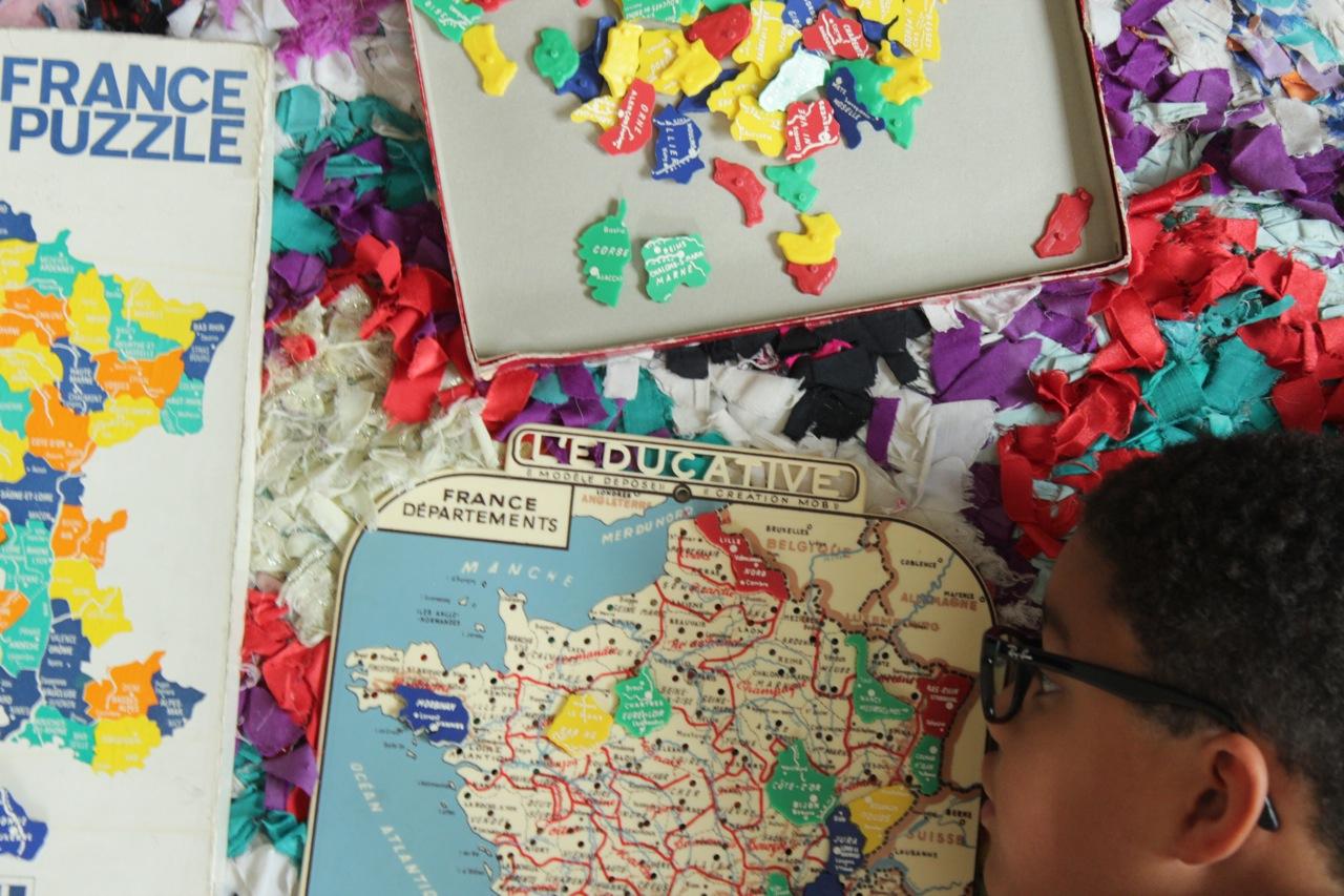 Apprendre En S'amusant : Les Départements Et La Carte intérieur Apprendre Les Départements En S Amusant