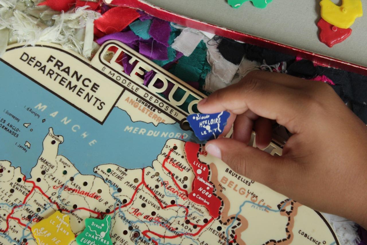 Apprendre En S'amusant : Les Départements Et La Carte tout Apprendre Les Départements En S Amusant