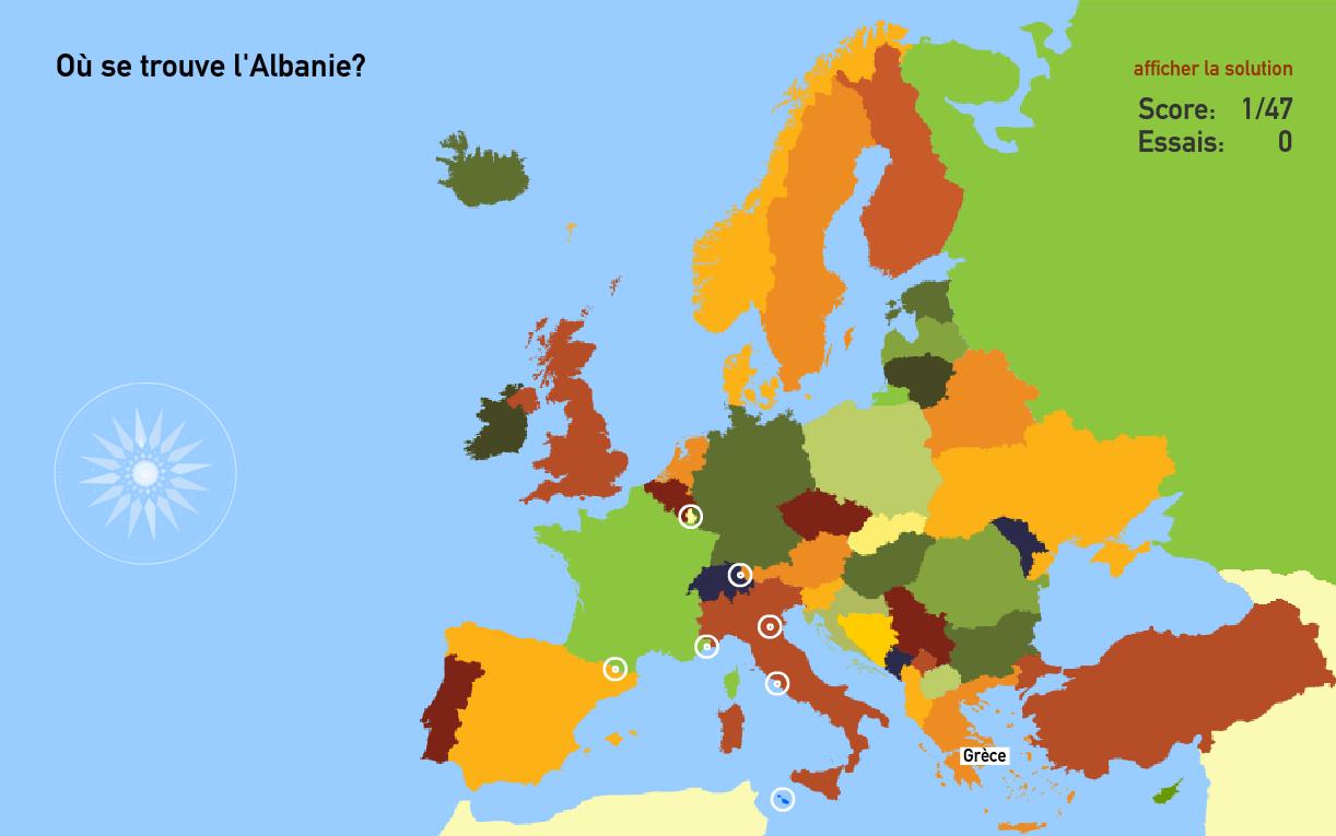 Apprendre La Géographie En S'amusant | Matelem dedans Apprendre Pays Europe