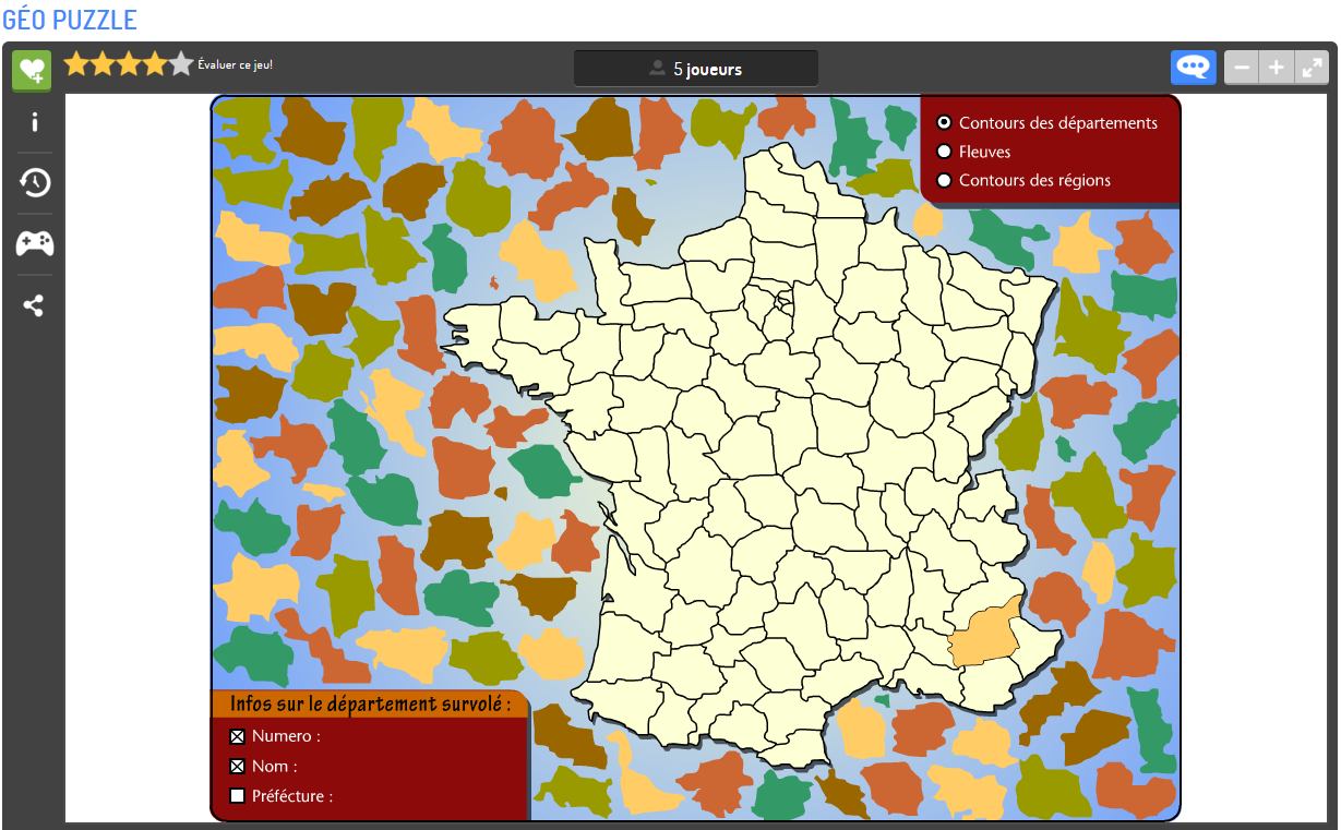 Apprendre La Géographie En S'amusant | Matelem pour Jeu Geographie Ville De France