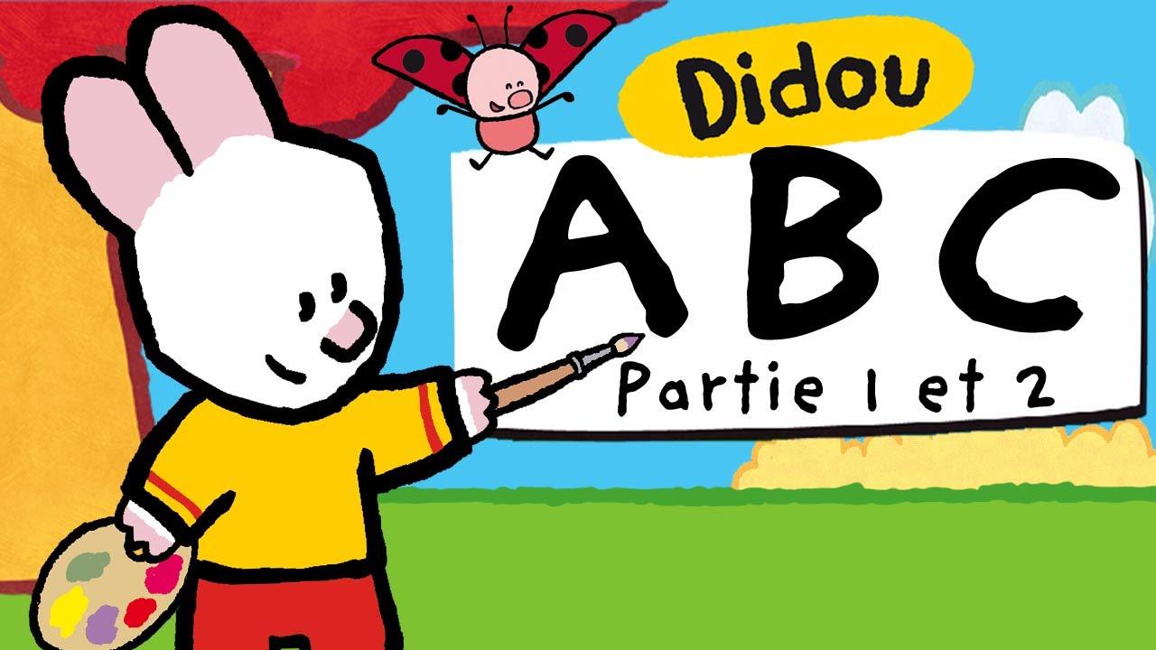 Apprendre L'alphabet Avec Didou | A À Z (Partie 1 Et 2) Hd , Plus 🎨 Ici ⬇⬇⬇ serapportantà Apprendre Alphabet Francais