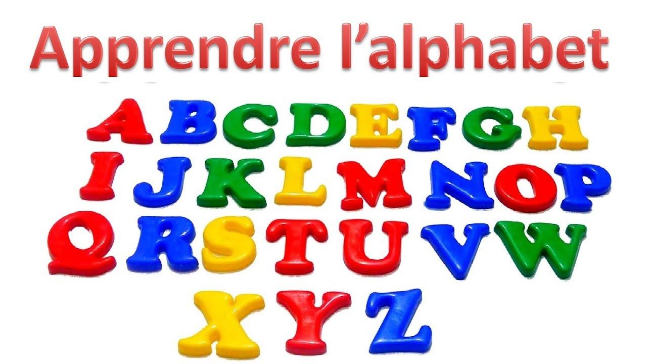 Apprendre L'alphabet Français destiné Apprendre Alphabet Francais