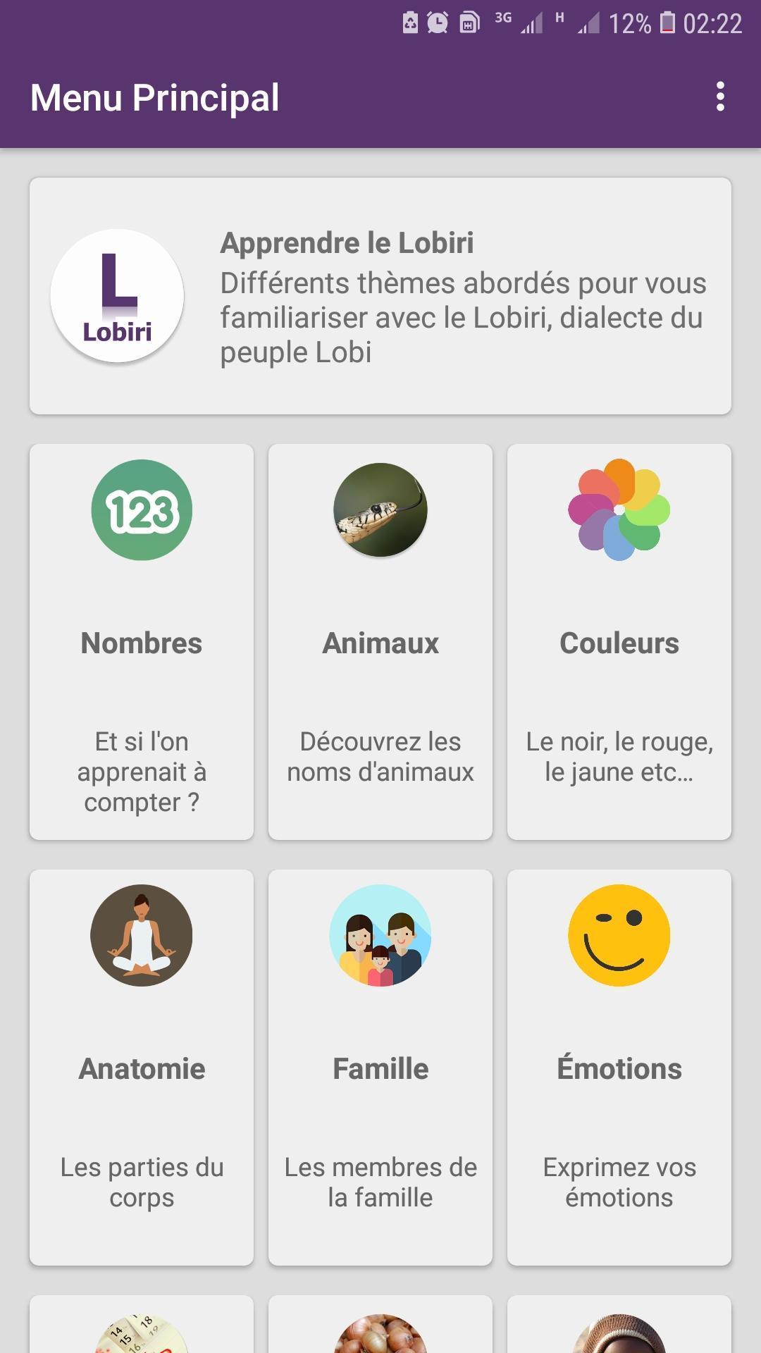 Apprendre Le Lobiri For Android - Apk Download encequiconcerne Apprendre Le Nom Des Animaux