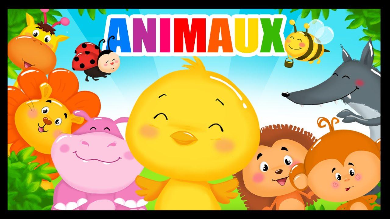 Apprendre Les Animaux Et Leurs Cris En Français Avec Les Titounis! tout Apprendre Les Animaux Pour Bebe