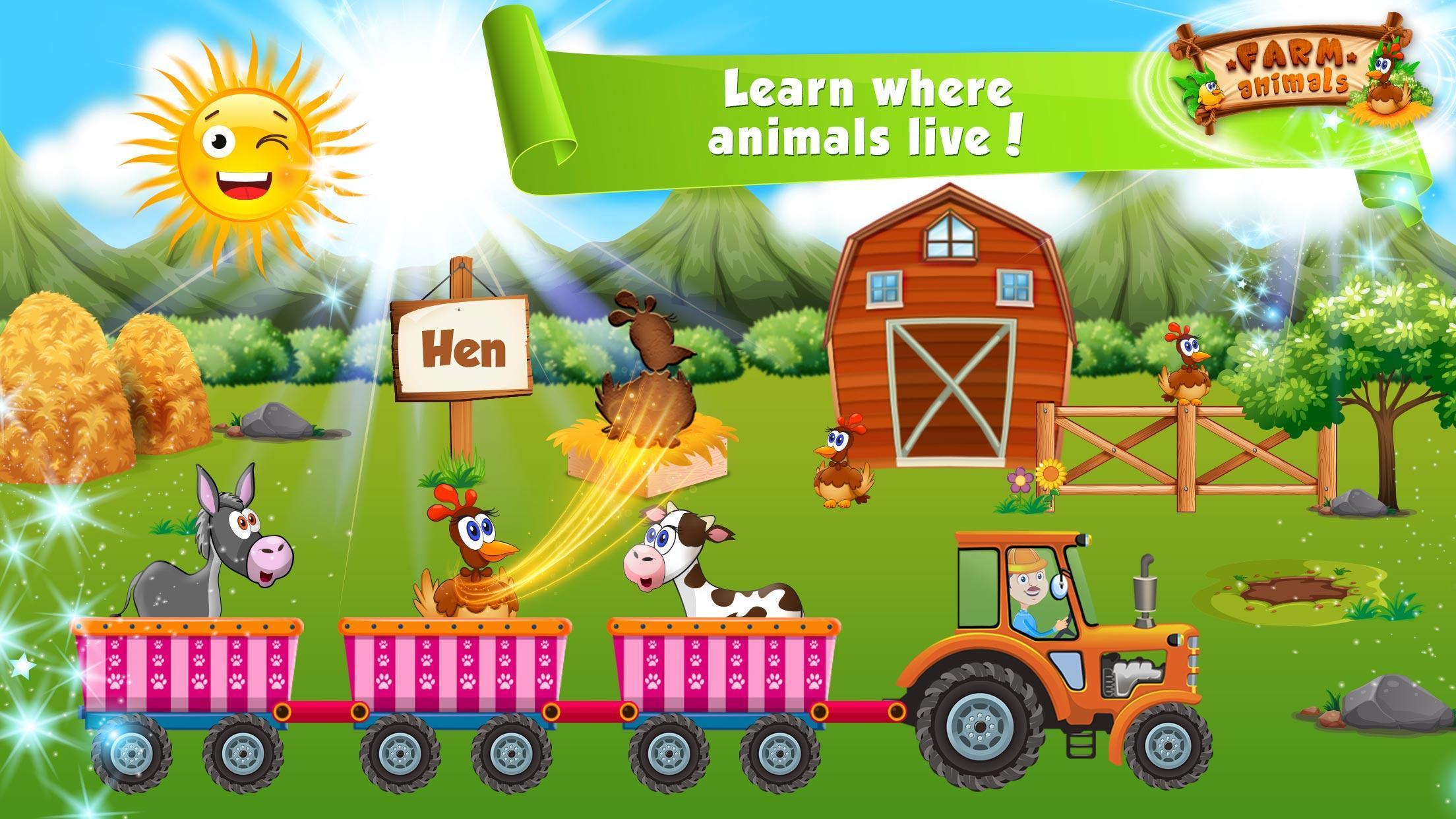 Apprendre Les Animaux Pour Bebe : Jeux Éducatifs Pour serapportantà Apprendre Les Animaux Jeux Éducatifs