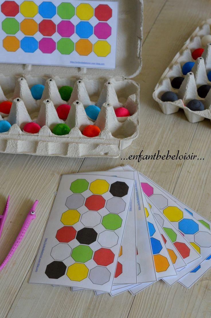 Apprendre Les Couleurs Pdf À Imprimer | Matériaux De avec Jeux Pour Apprendre Les Couleurs
