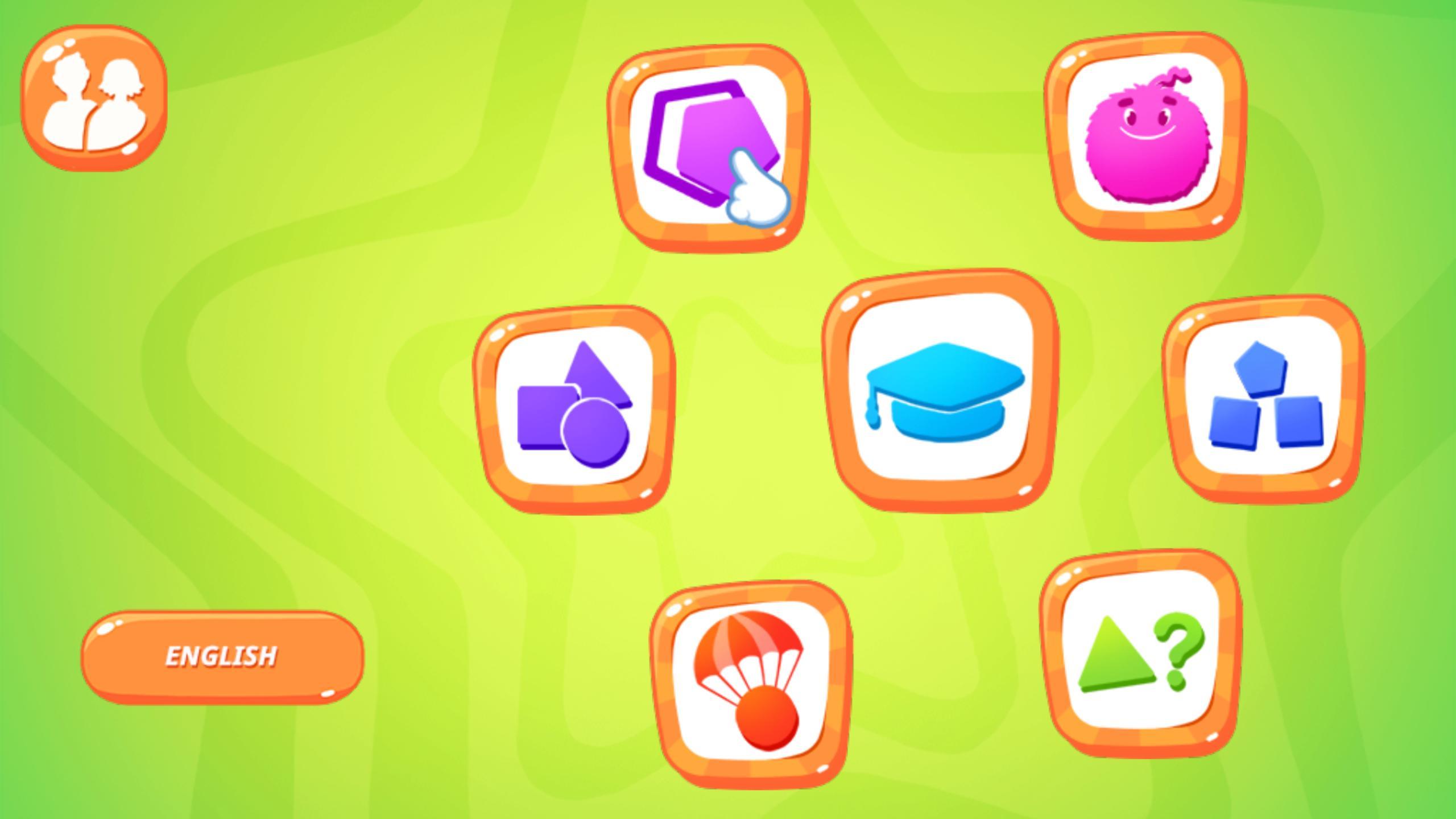 Apprendre Les Formes Géométriques: Jeux De Bébé Pour Android tout Jeu De Forme Géométrique