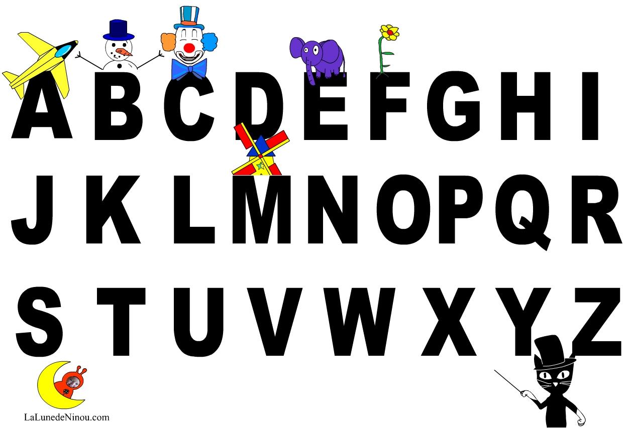 Apprendre Les Lettres De L'alphabet - Jeux Pour Enfants Sur destiné Jeux Alphabet Maternelle Gratuit