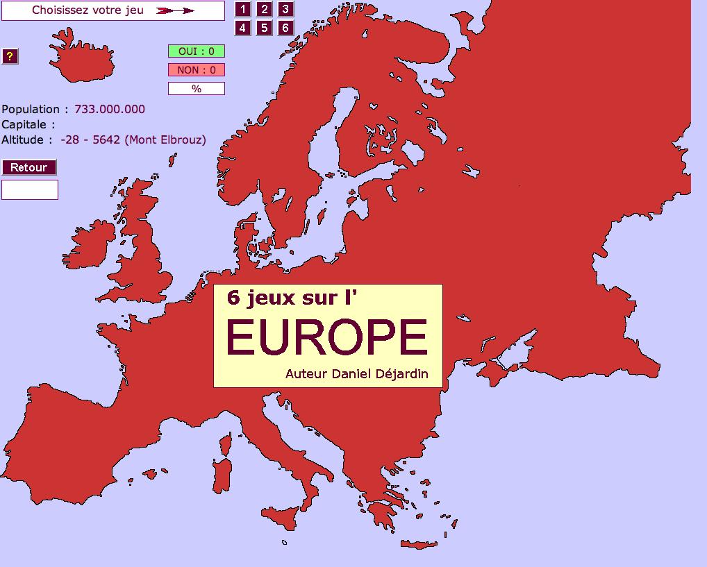 Apprendre Les Pays D'europe Par Le Jeu dedans Apprendre Pays Europe