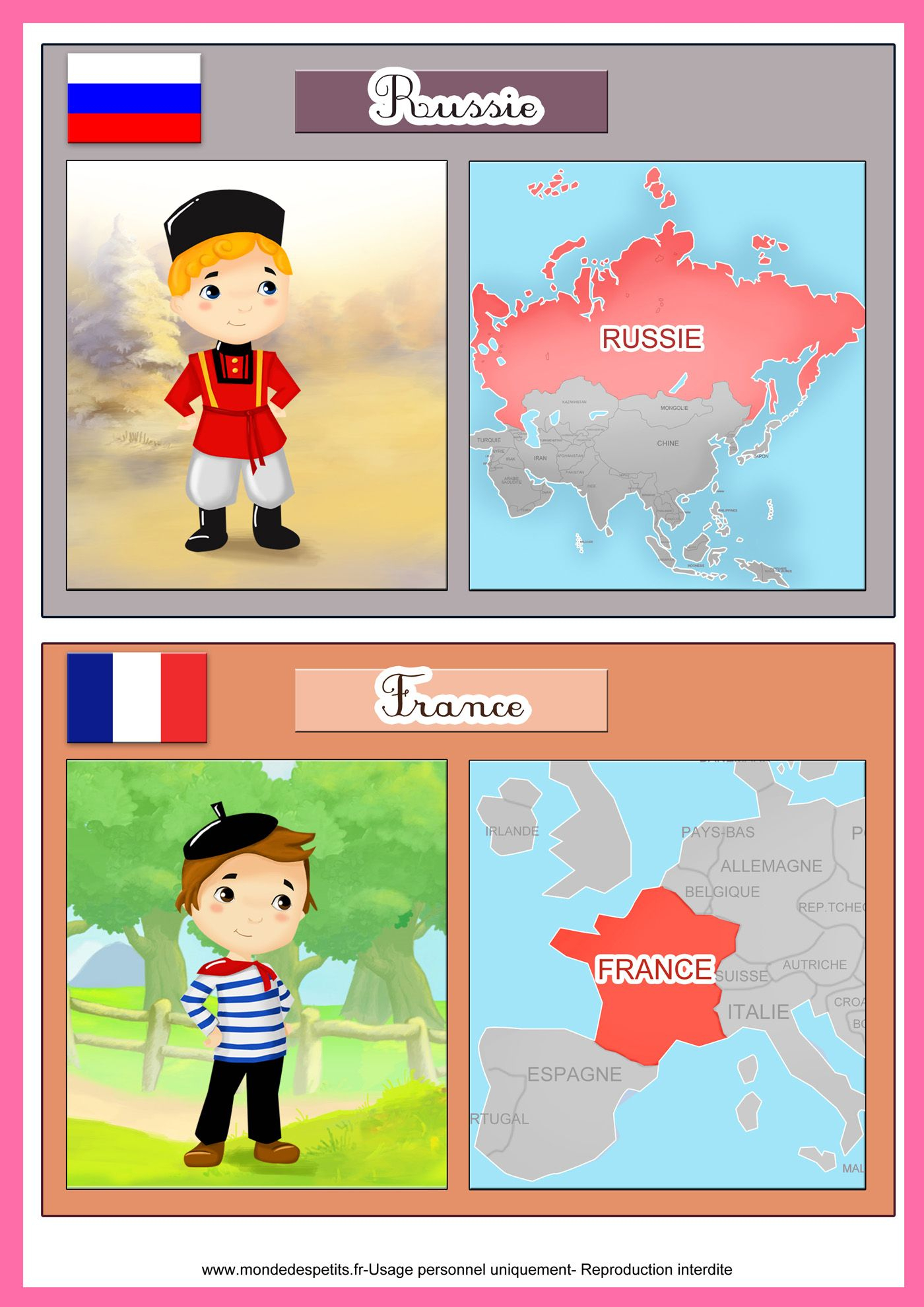 Apprendre Les Pays Du Monde Aux Enfants | Pays Du Monde tout Apprendre Pays Europe