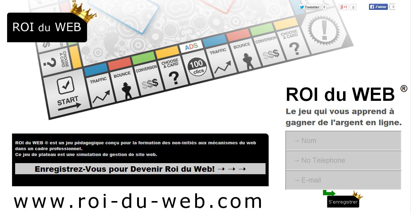 Apprendre Par Le Jeu: Jeu De Société E-Commerce Roi Du Web ® . destiné Jeux Pédagogiques En Ligne
