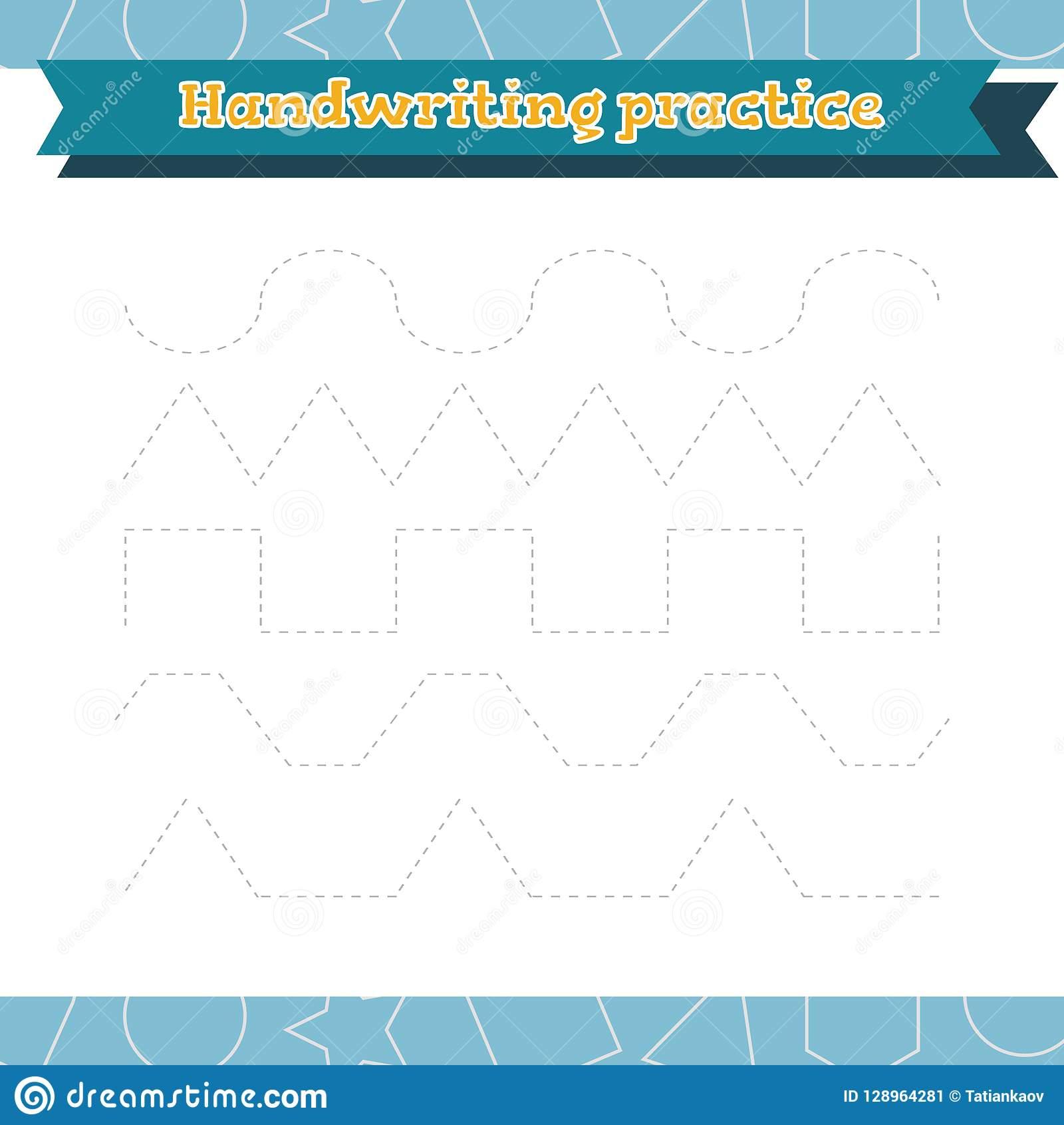Apprenez Les Formes Et Les Chiffres Géométriques Pratique En serapportantà Écriture Chiffres Maternelle