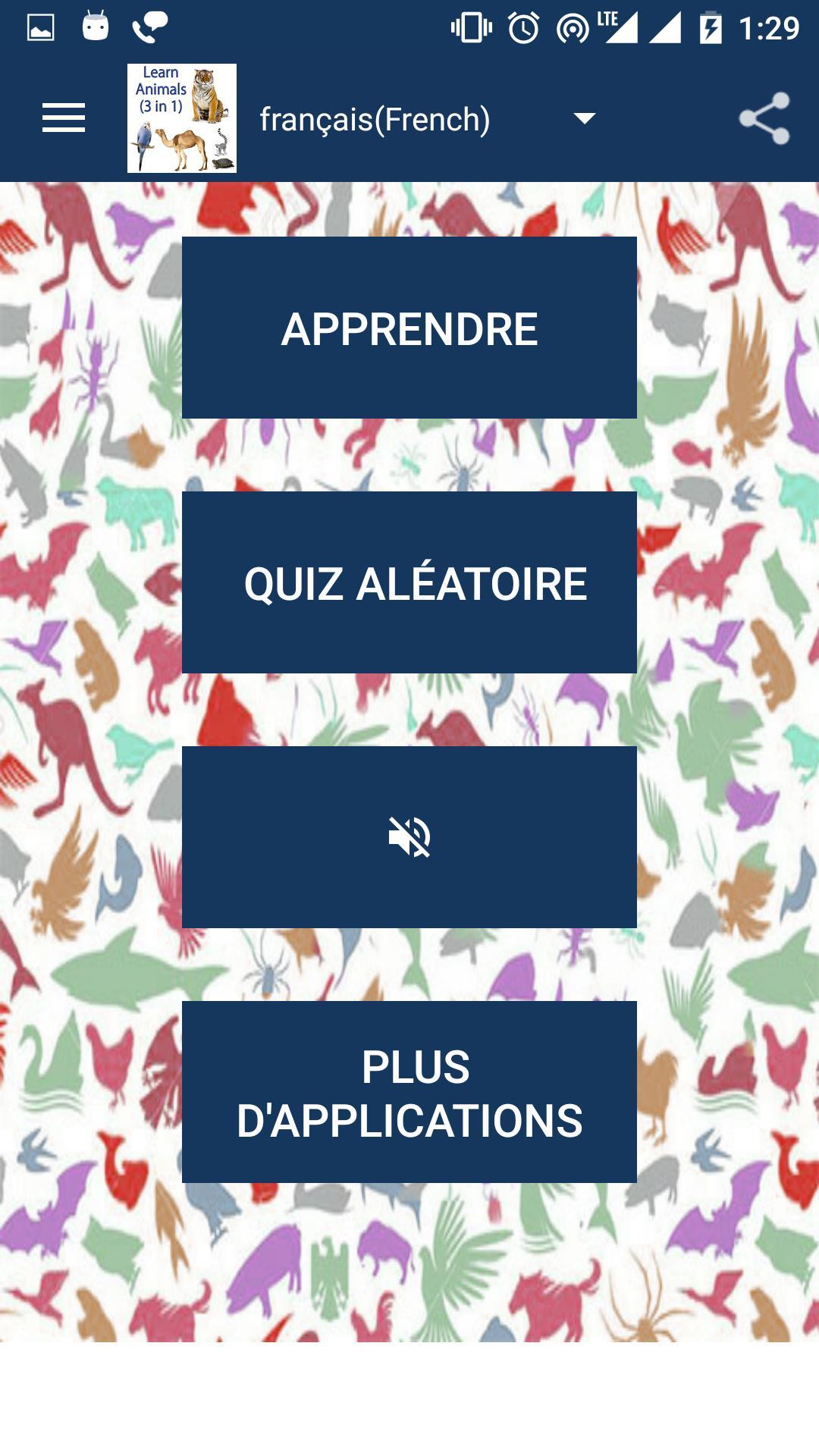 Apprenez Les Noms Des Animaux Pour Android - Téléchargez L'apk concernant Apprendre Le Nom Des Animaux