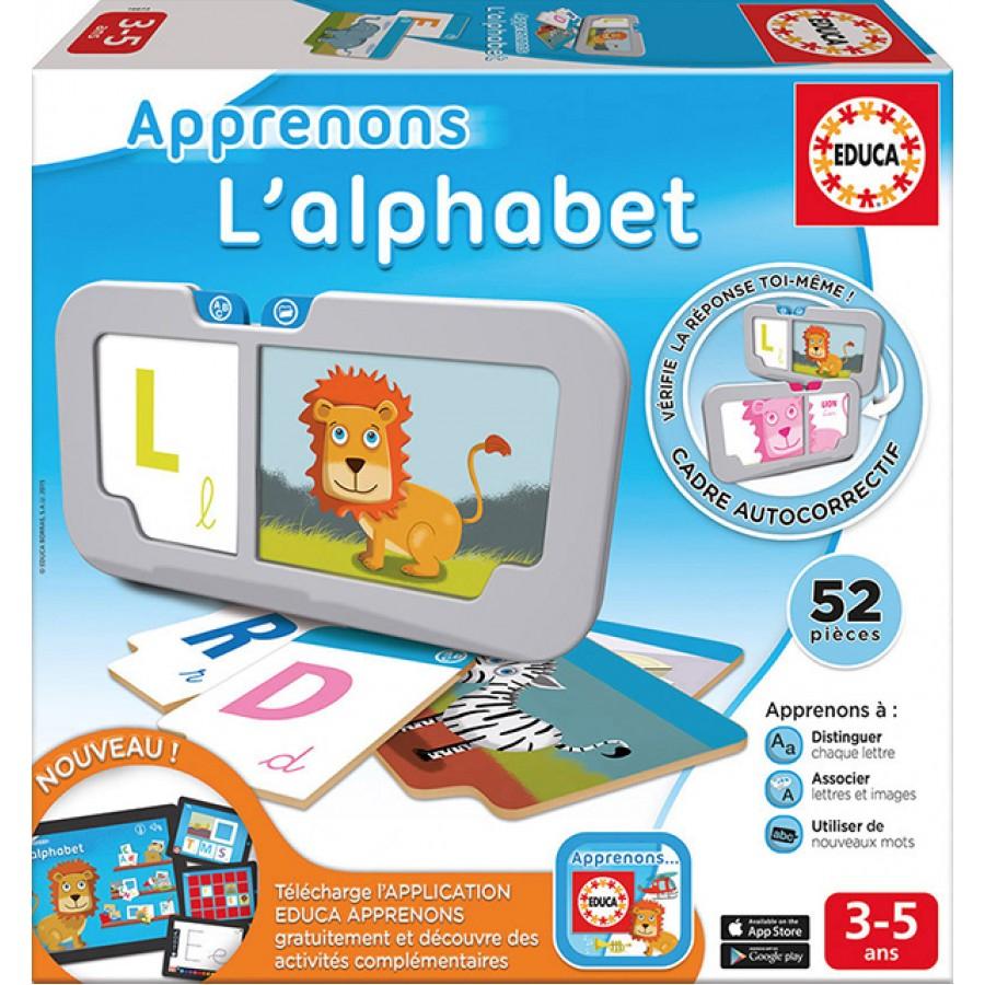 Apprenons L'alphabet, Educa, Jeux, Apprentissage, Éducatif avec Jeux Educatif 4 5 Ans