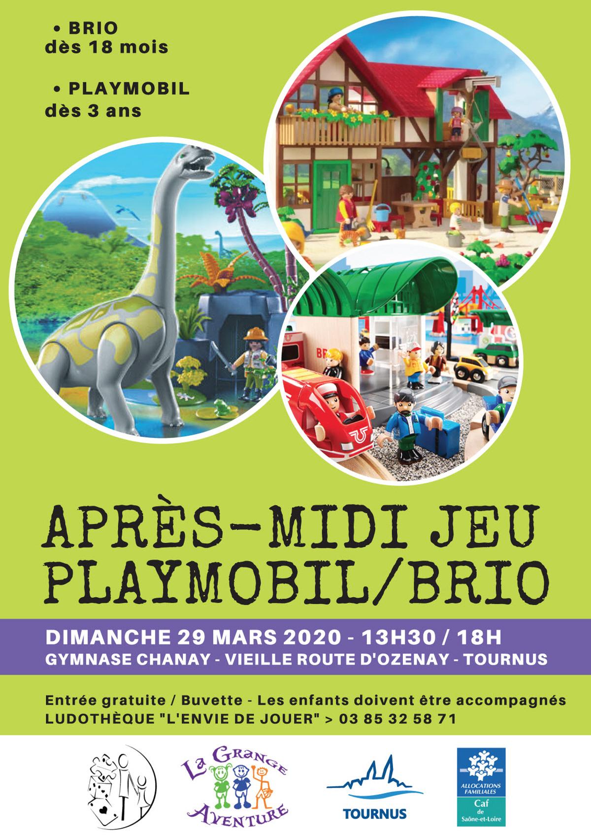 Apres Midi Jeu Playmobil/brio : Jeu, Concours A Tournus à Jeux Enfant 3 Ans Gratuit
