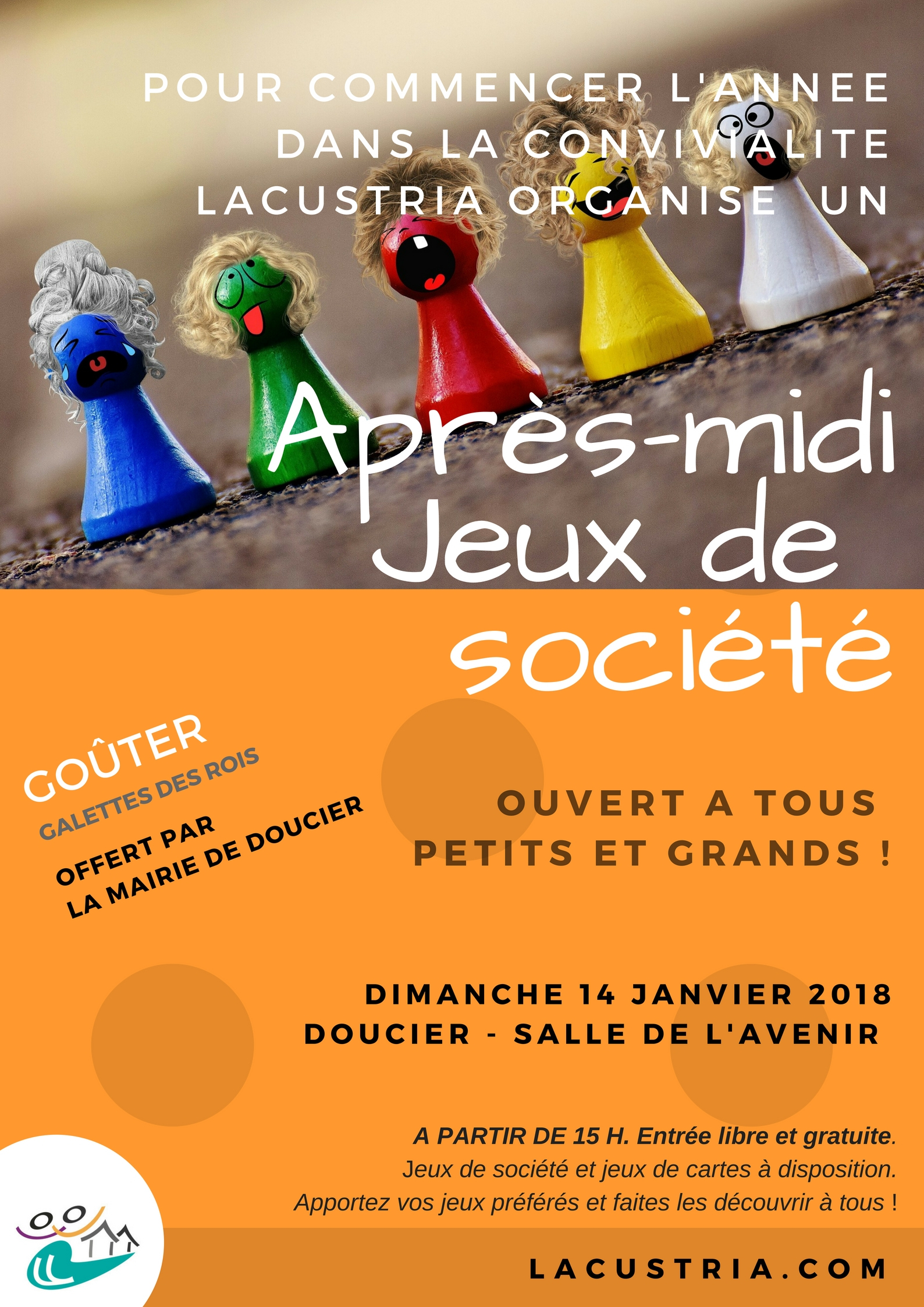 Après-Midi Jeux De Société Dimanche 14 Janvier 2018 | Mairie pour Jeux Societe Gratuit