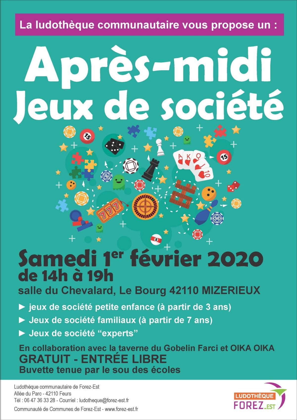 Apres Midi Jeux De Societe : Jeu De Societe A Mizerieux intérieur Jeux Societe Gratuit