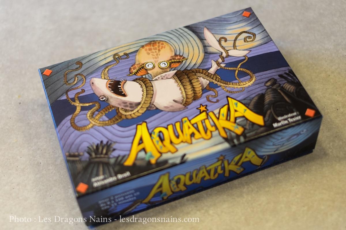 Aquatika, Tactique Aquatique ! - Les Dragons Nains pour Jeu De Societe Requin