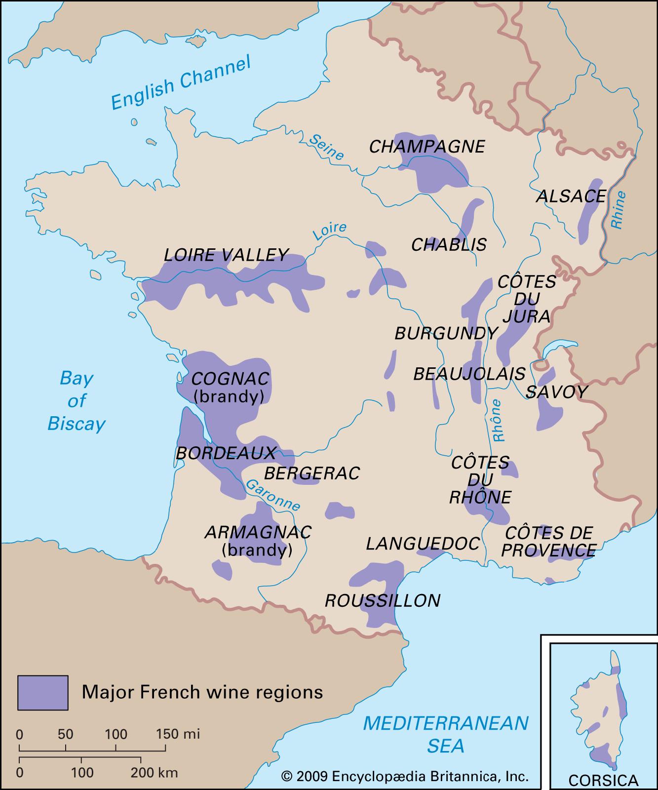 Aquitaine | History, Culture, Geography, & Map | Britannica encequiconcerne Région Et Département France