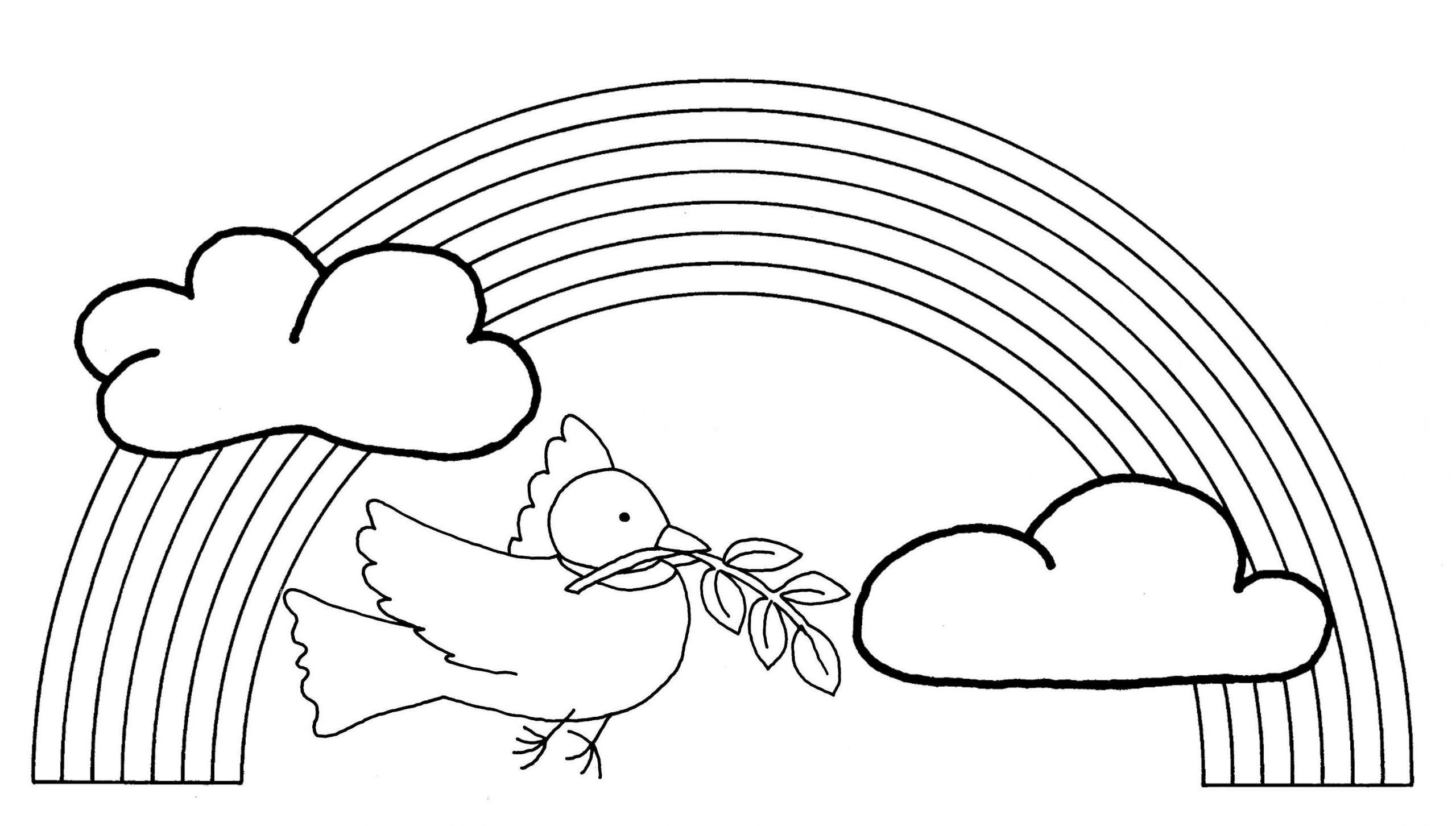 Arc-En-Ciel #14 (Nature) – Coloriages À Imprimer intérieur Arc En Ciel A Colorier