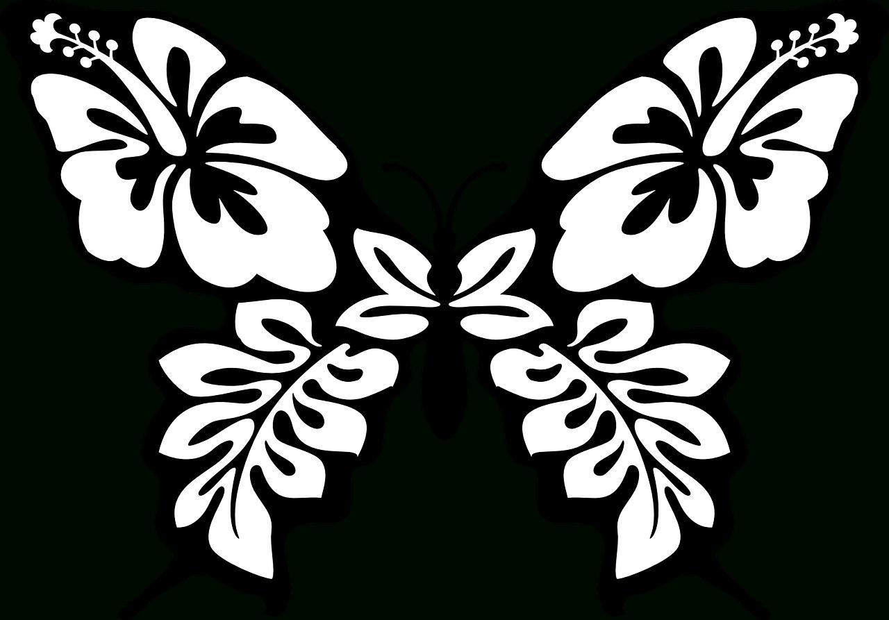 Artettuto- Coloriages Papillons À Imprimer. -Dessins De destiné Papillon À Dessiner