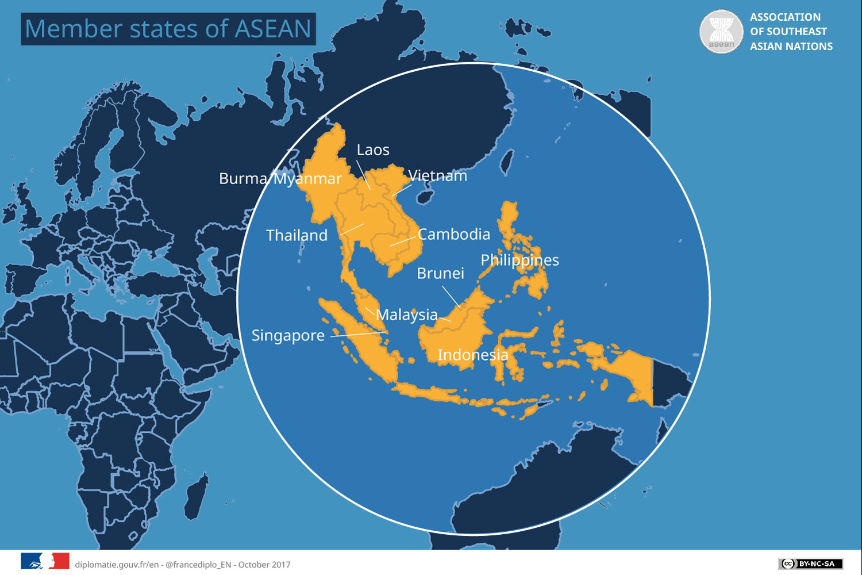 Asean pour Carte Europe 2017