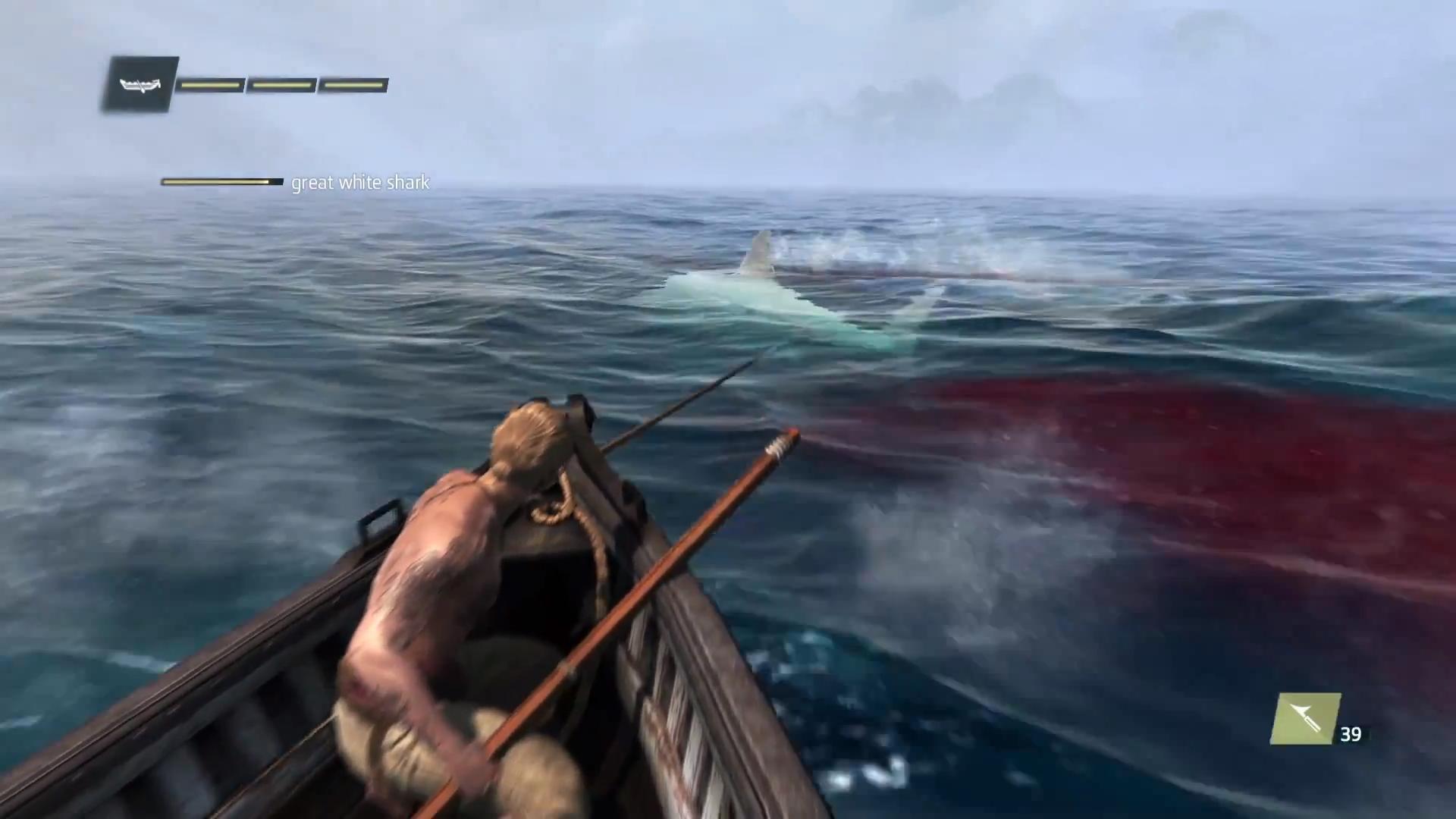 Assassin's Creed Iv - Nouveaux Détails - Millenium avec Requin Jeux Video