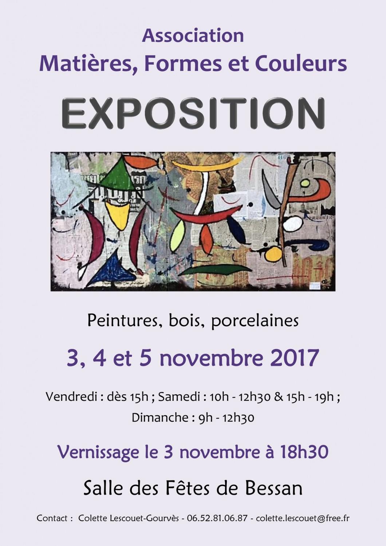 Associations : Exposition Association Matières, Formes Et tout Association De Formes