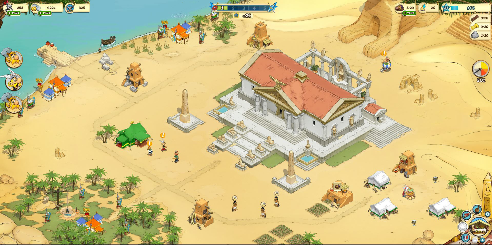 Asterix Et Ses Amis - Test Du Jeu De Gestion, Jeux F2P à Jeux Gratuit De Village