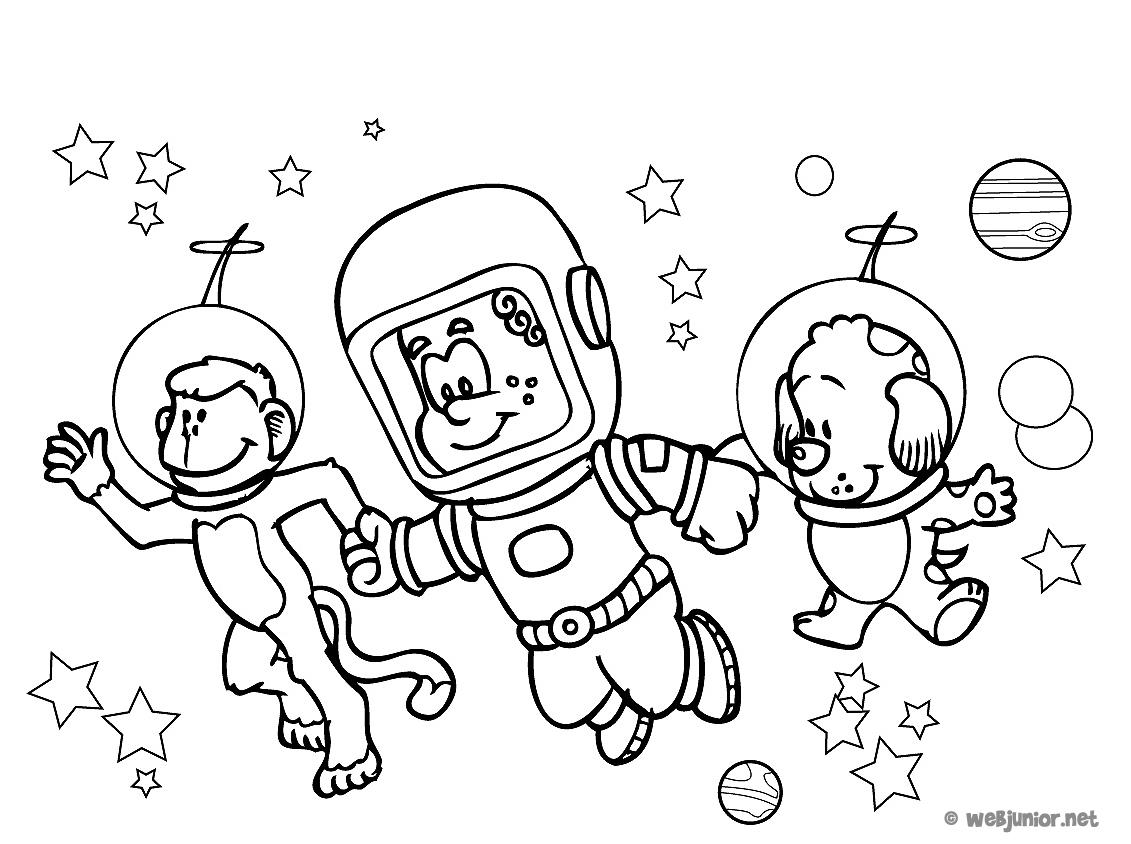 Astronaute #21 (Métiers Et Professions) – Coloriages À Imprimer serapportantà Coloriage Astronaute
