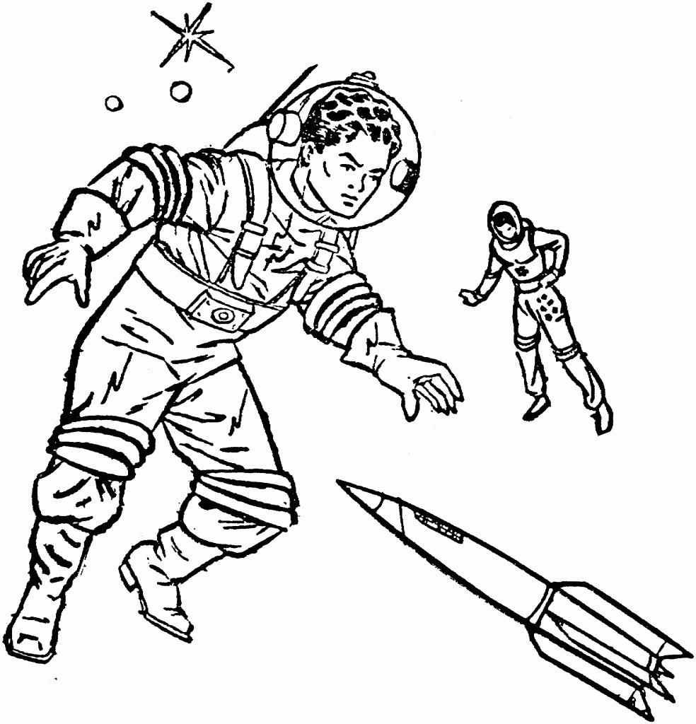 Astronaute #65 (Métiers Et Professions) – Coloriages À Imprimer encequiconcerne Coloriage Astronaute