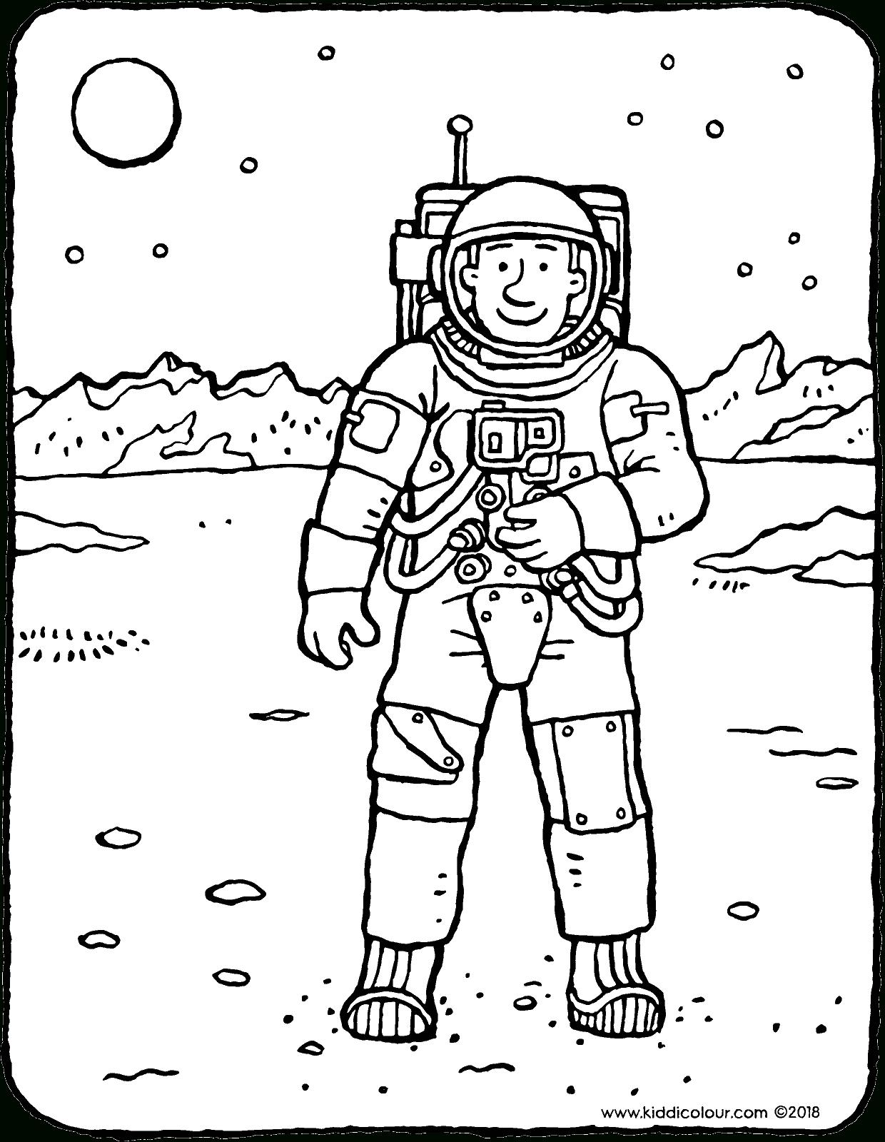 Astronaute Coloriage Dessin Image À Colorier 01V | Coloriage concernant Coloriage Astronaute