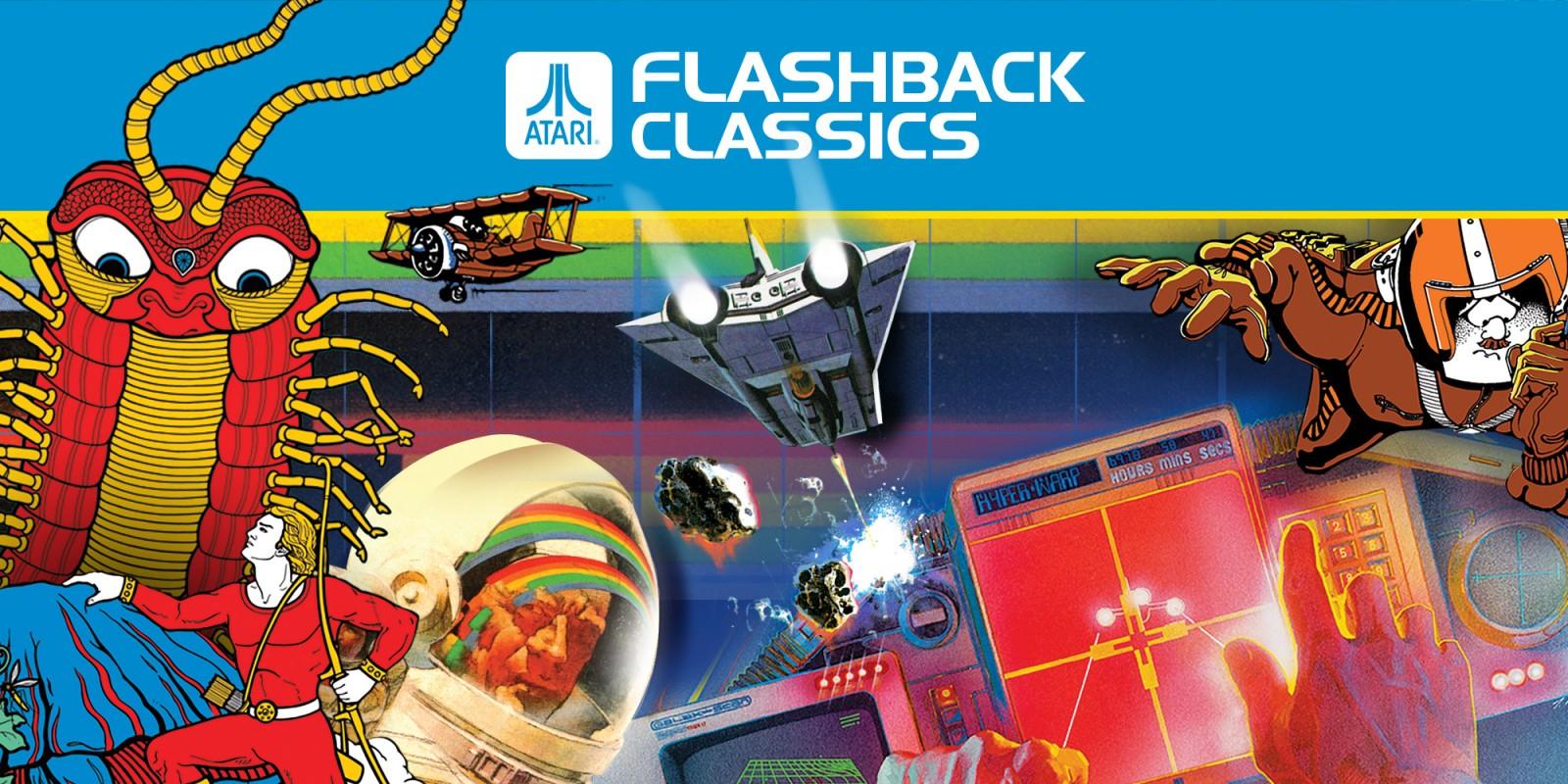 Atari Flashback Classics   Nintendo Switch   Jeux   Nintendo avec Jeux De Secs