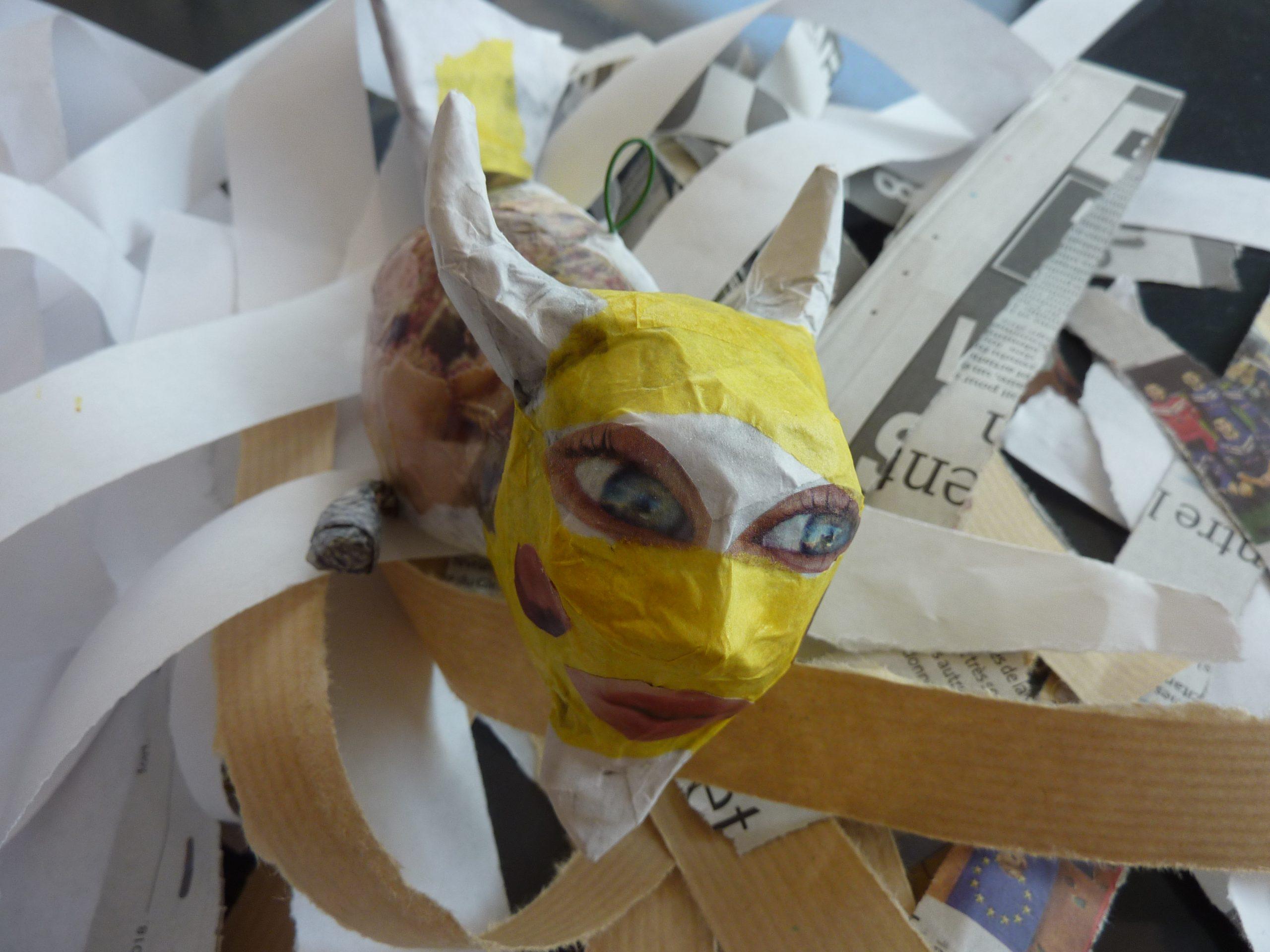 Atelier Activité Manuelle/papier Mâché (6-13 Ans) pour Activité Manuelle En Papier