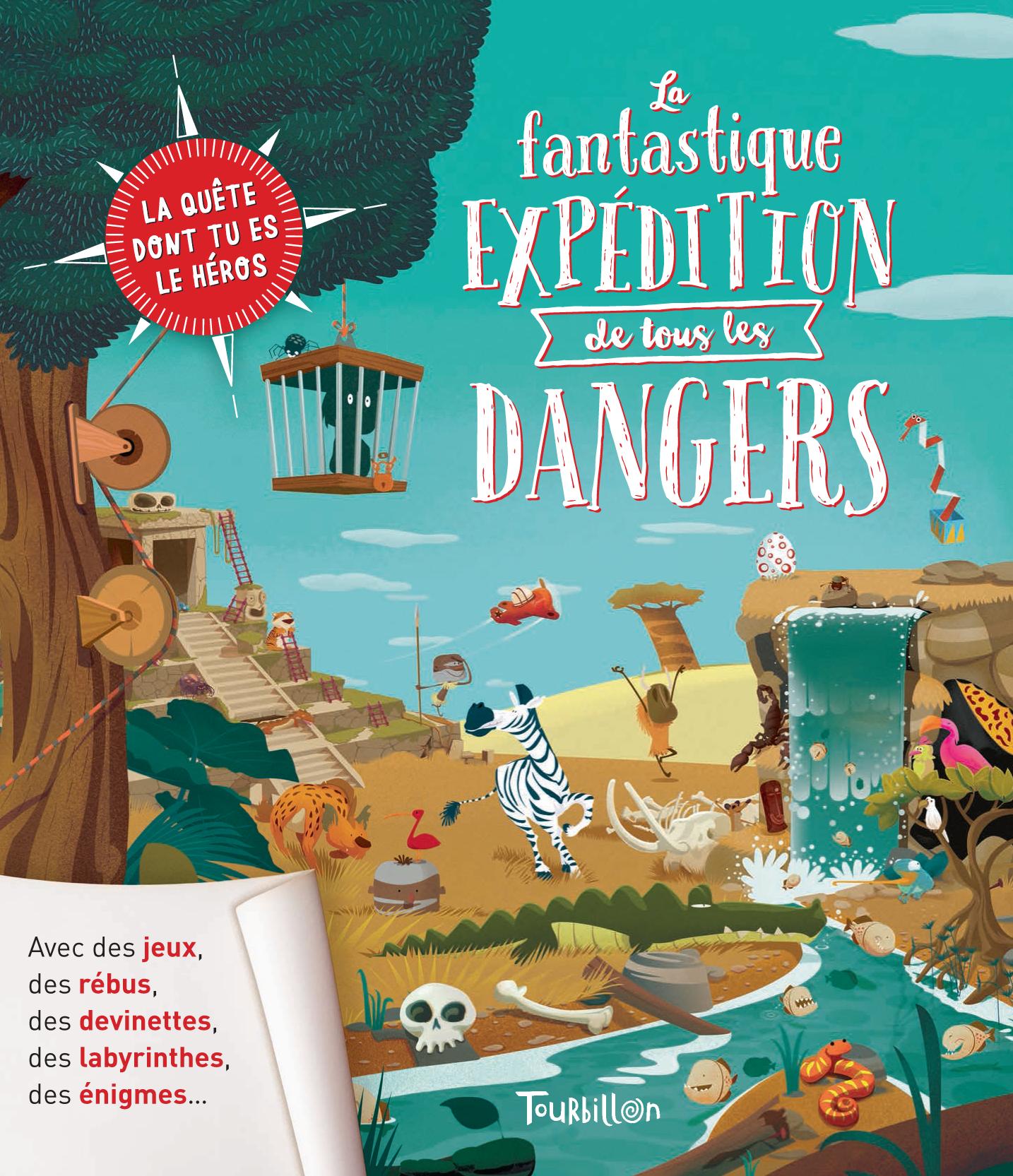 Atelier-Cartone La Fantastique Expédition De Tous Les serapportantà Jeux Rebus