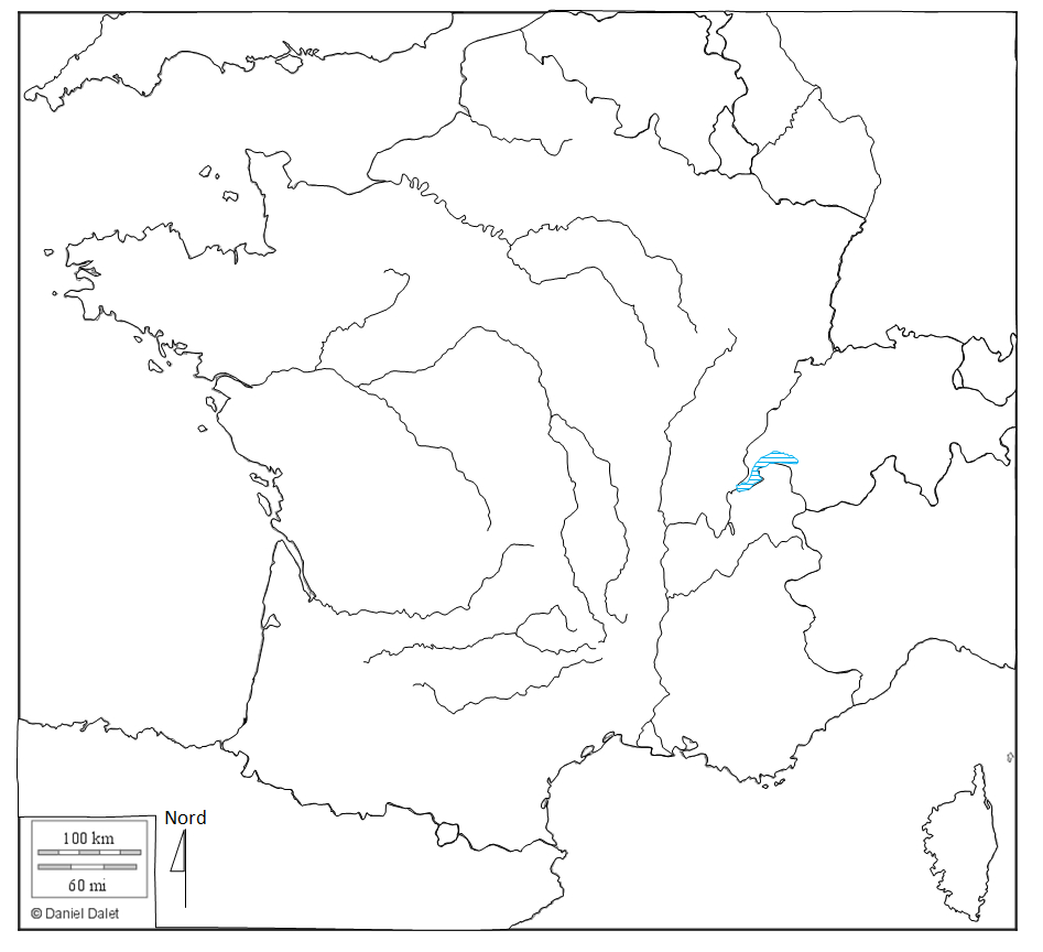 Atelier De Cartographie – Cartes Modifiables Sur Word tout Carte De La France Vierge