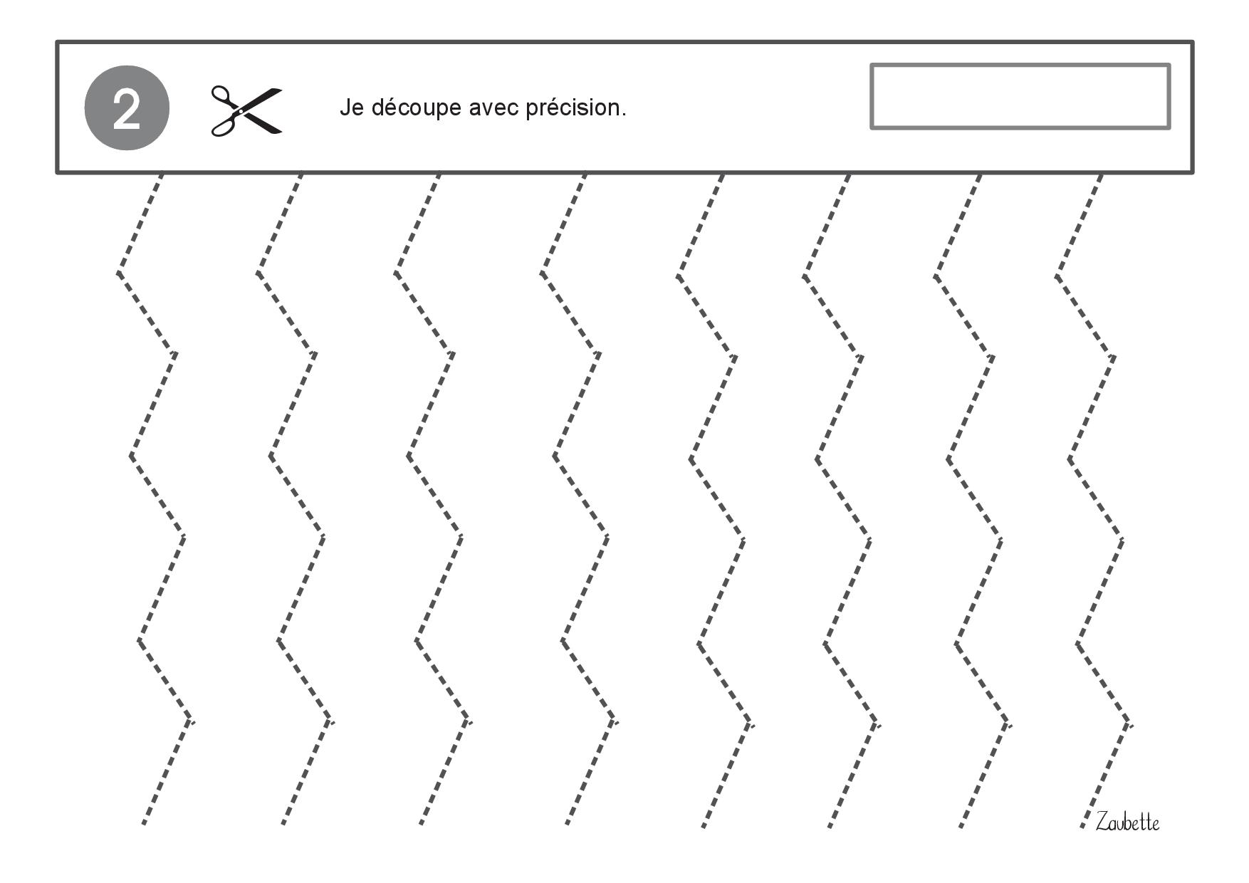 Atelier Découpage Ms-Gs - Zaubette encequiconcerne Decoupage A Imprimer