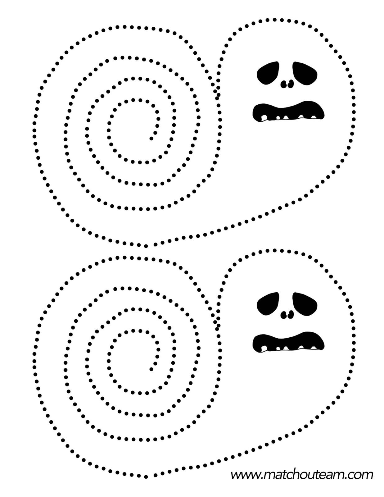Atelier Découpage Pour Halloween | Bricolage Halloween intérieur Decoupage A Imprimer