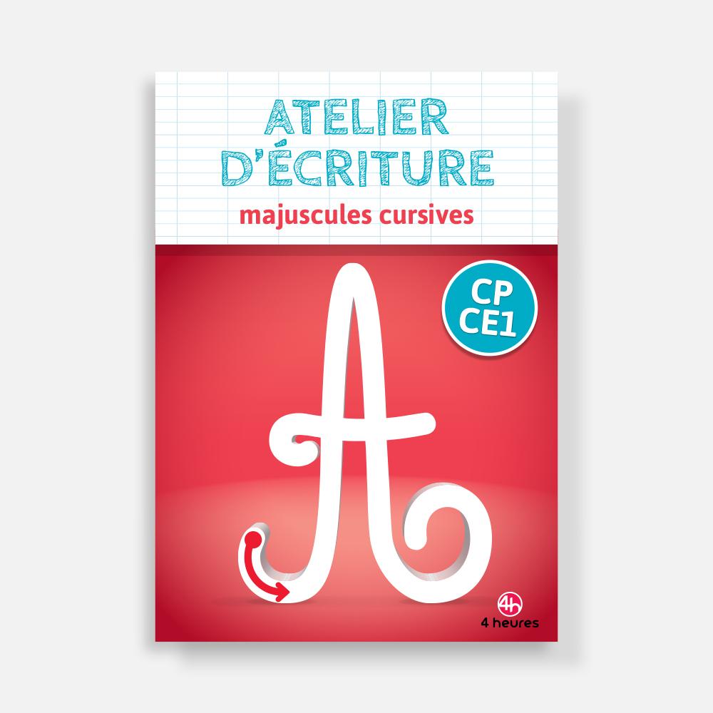 Atelier D'écriture Majuscule Cursive Cp-Ce1 destiné Cahier Majuscule