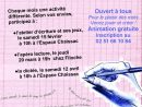 Atelier Jeux D'écriture Le Samedi 15 Février - Espace Gaston avec Jeux D Écriture Gratuit